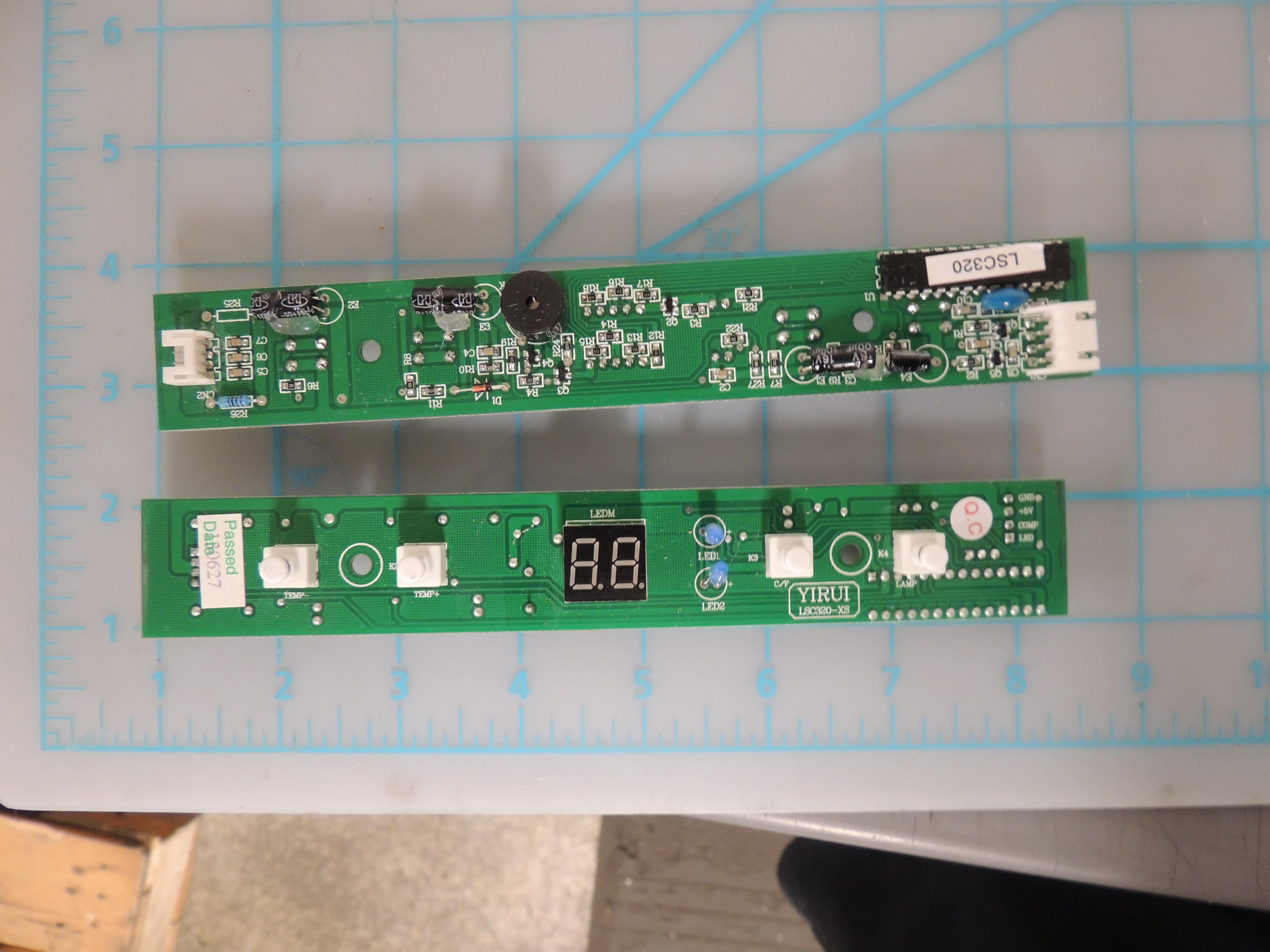 DWC612BLP DISP BOARD (FAN LED)