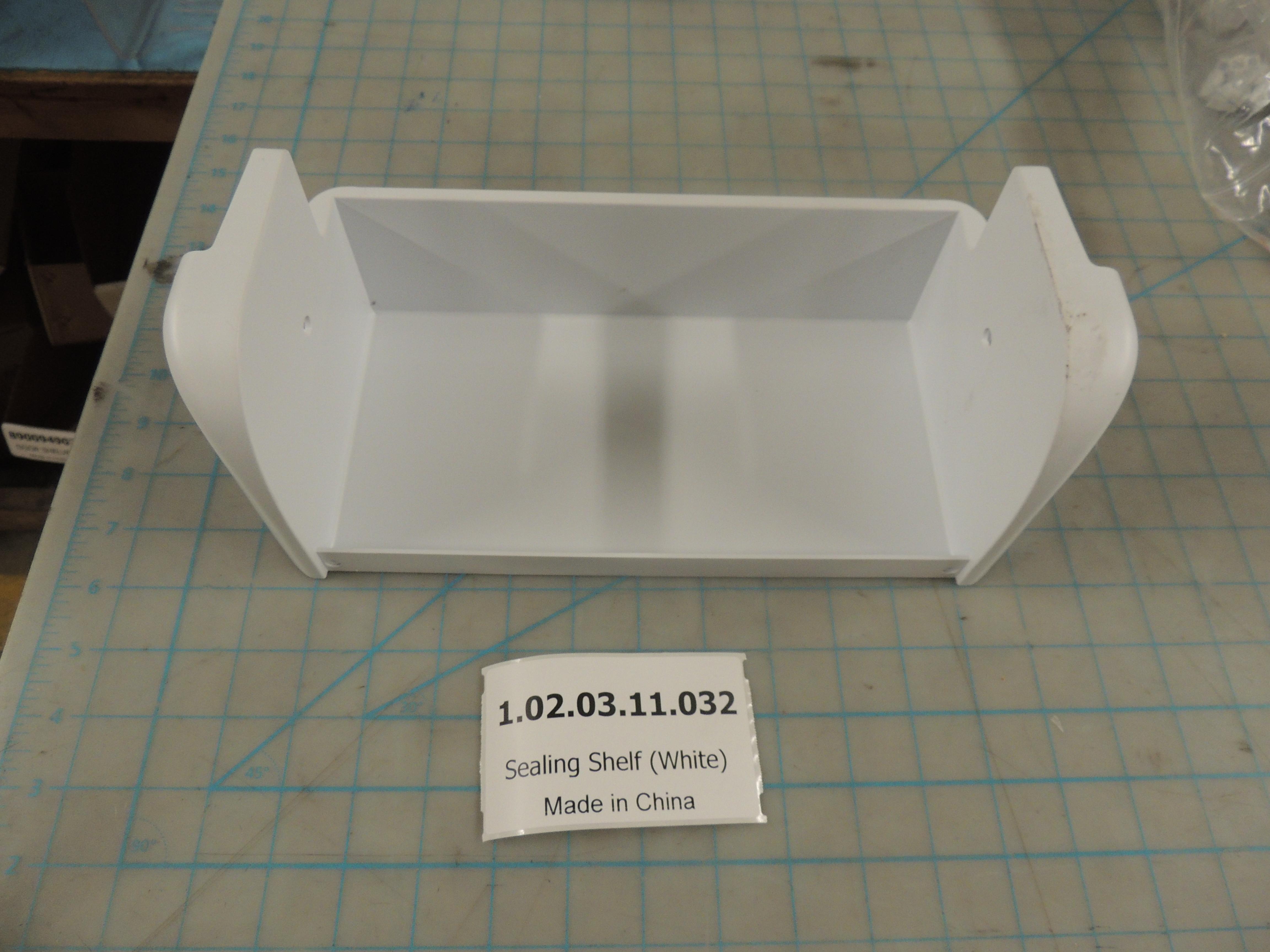 Sealing Shelf (White)