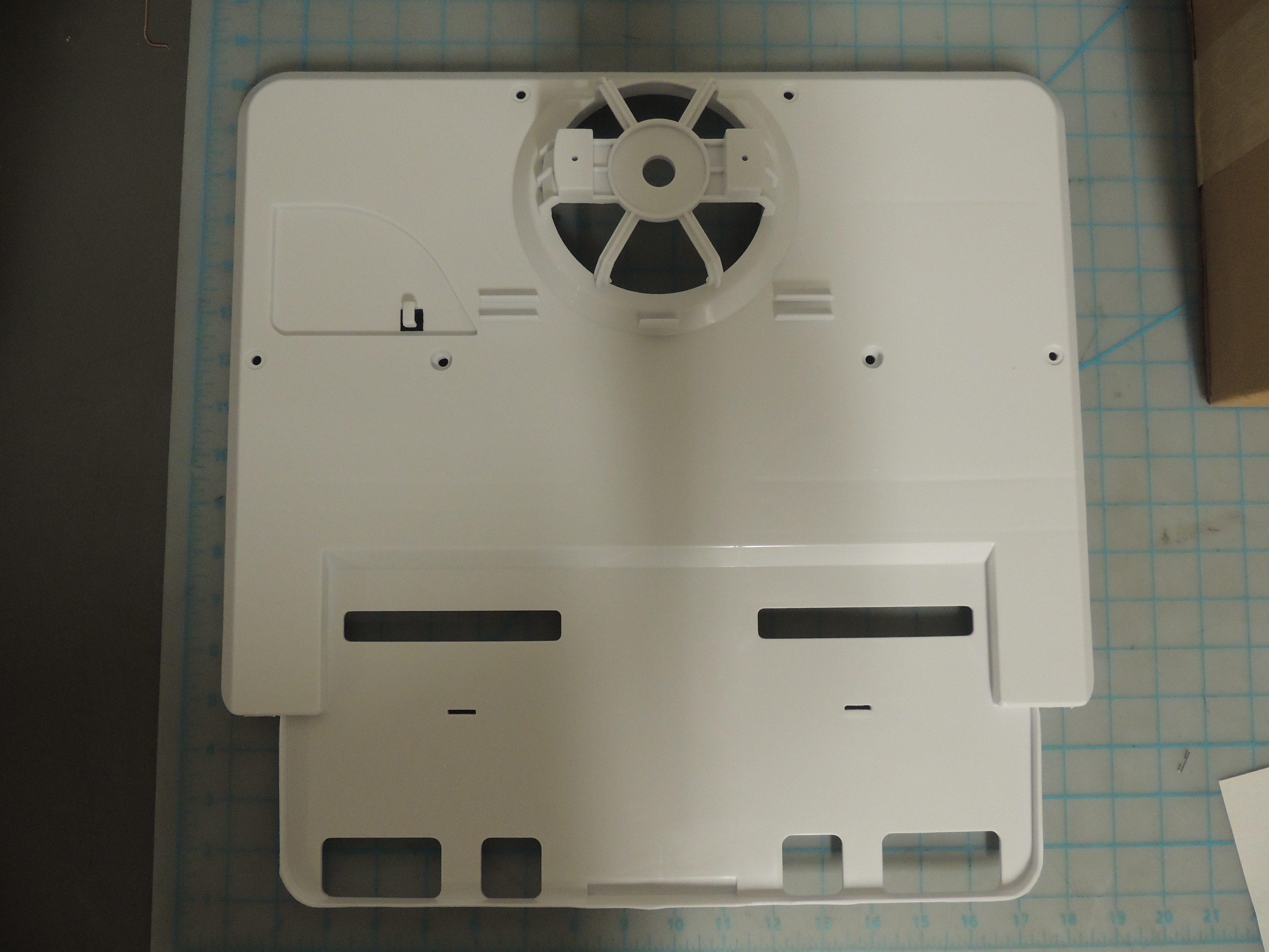 DFF9100 AIR OUTLET INSIDE PLAT