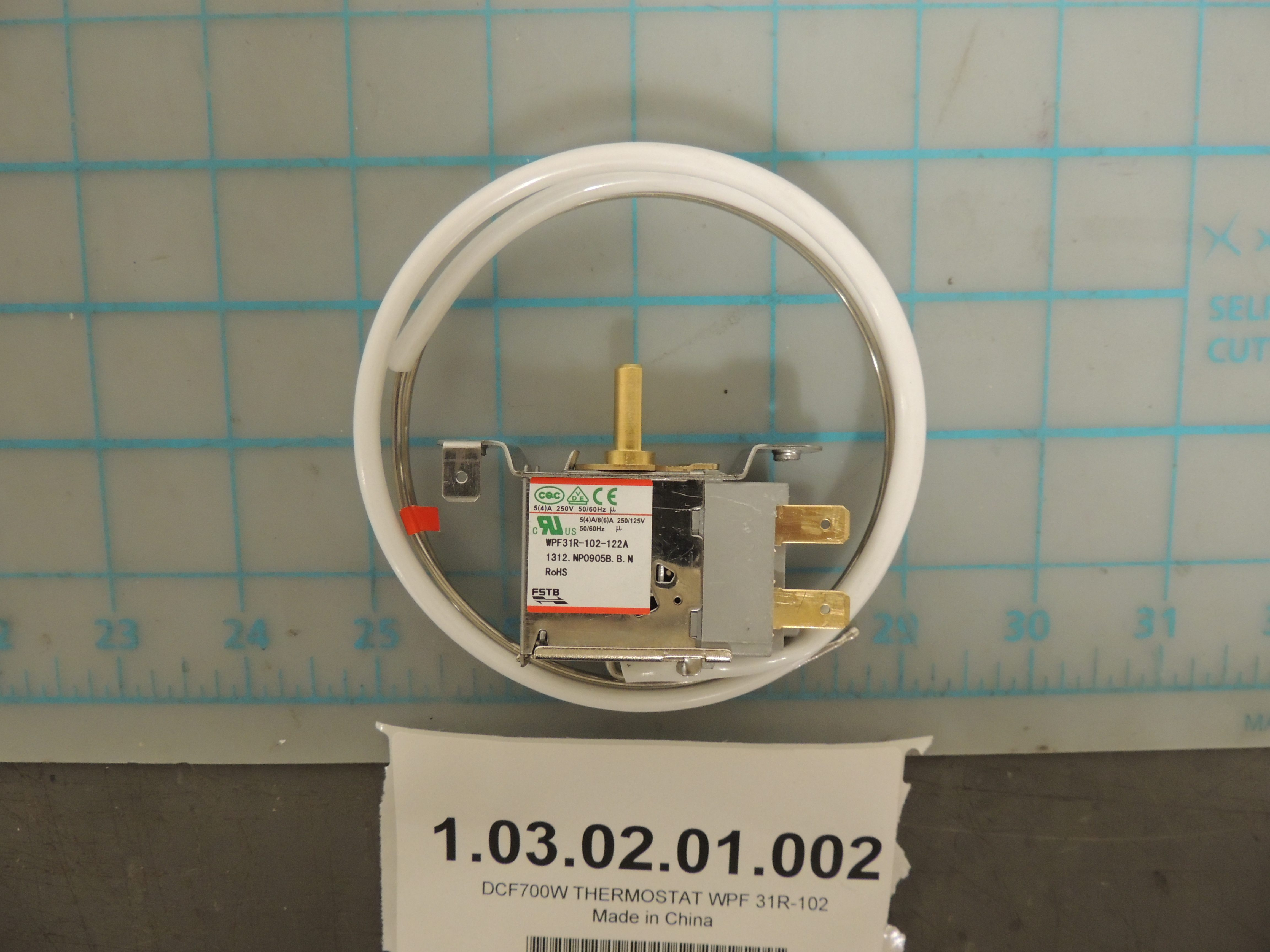 DCF700W THERMOSTAT WPF 31R-102
