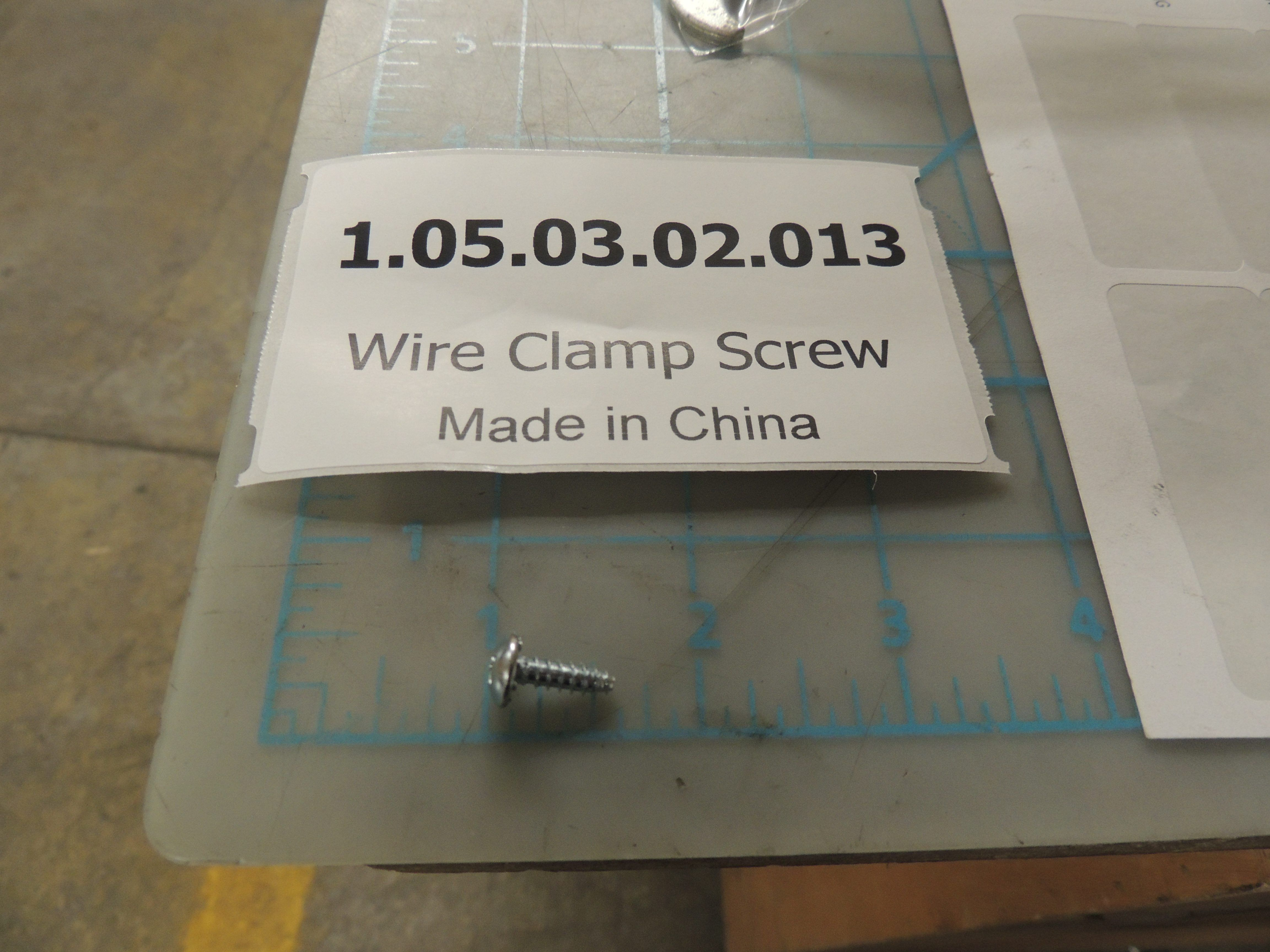 Wire Clamp Screw