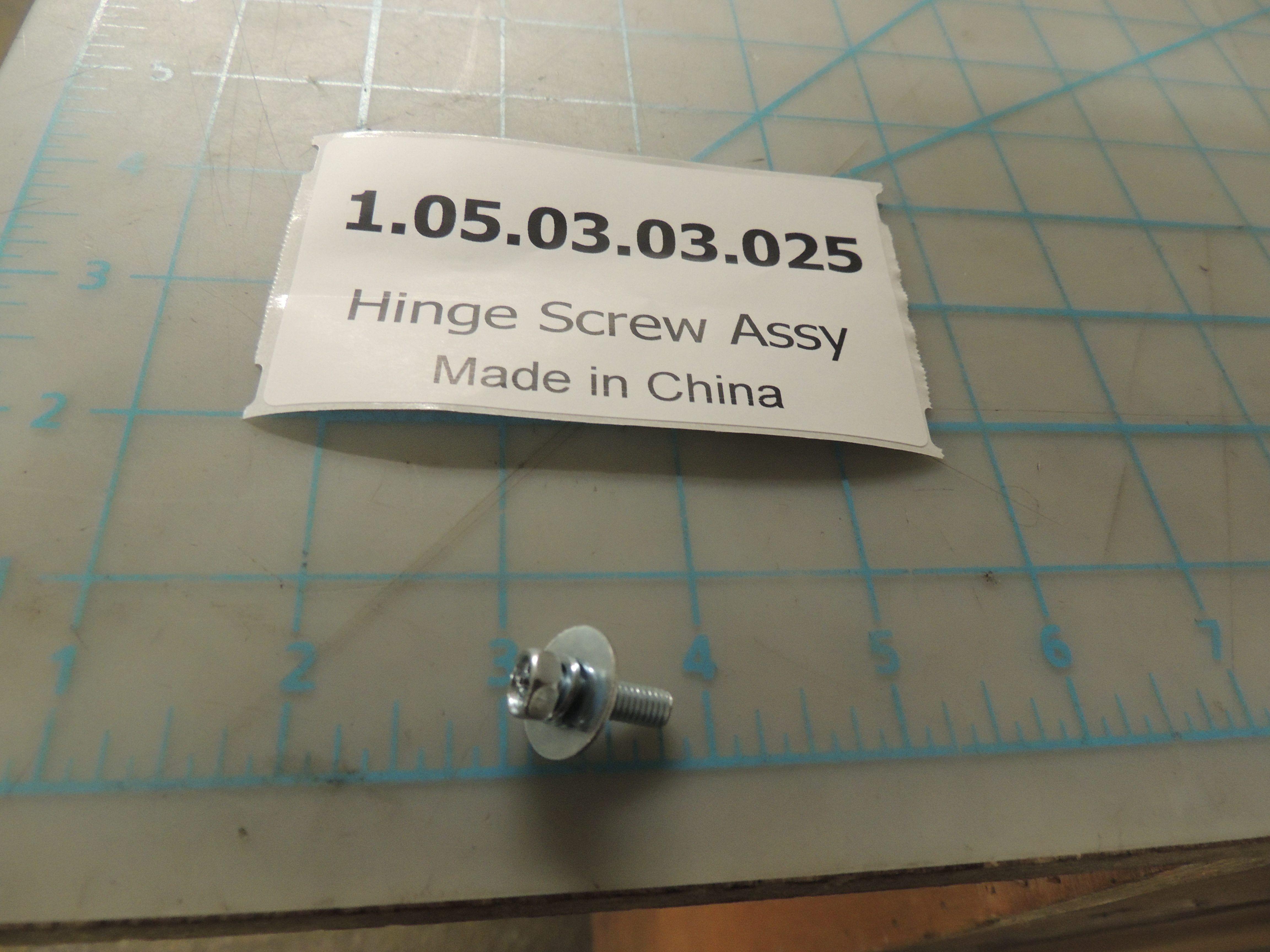Hinge Screw Assy