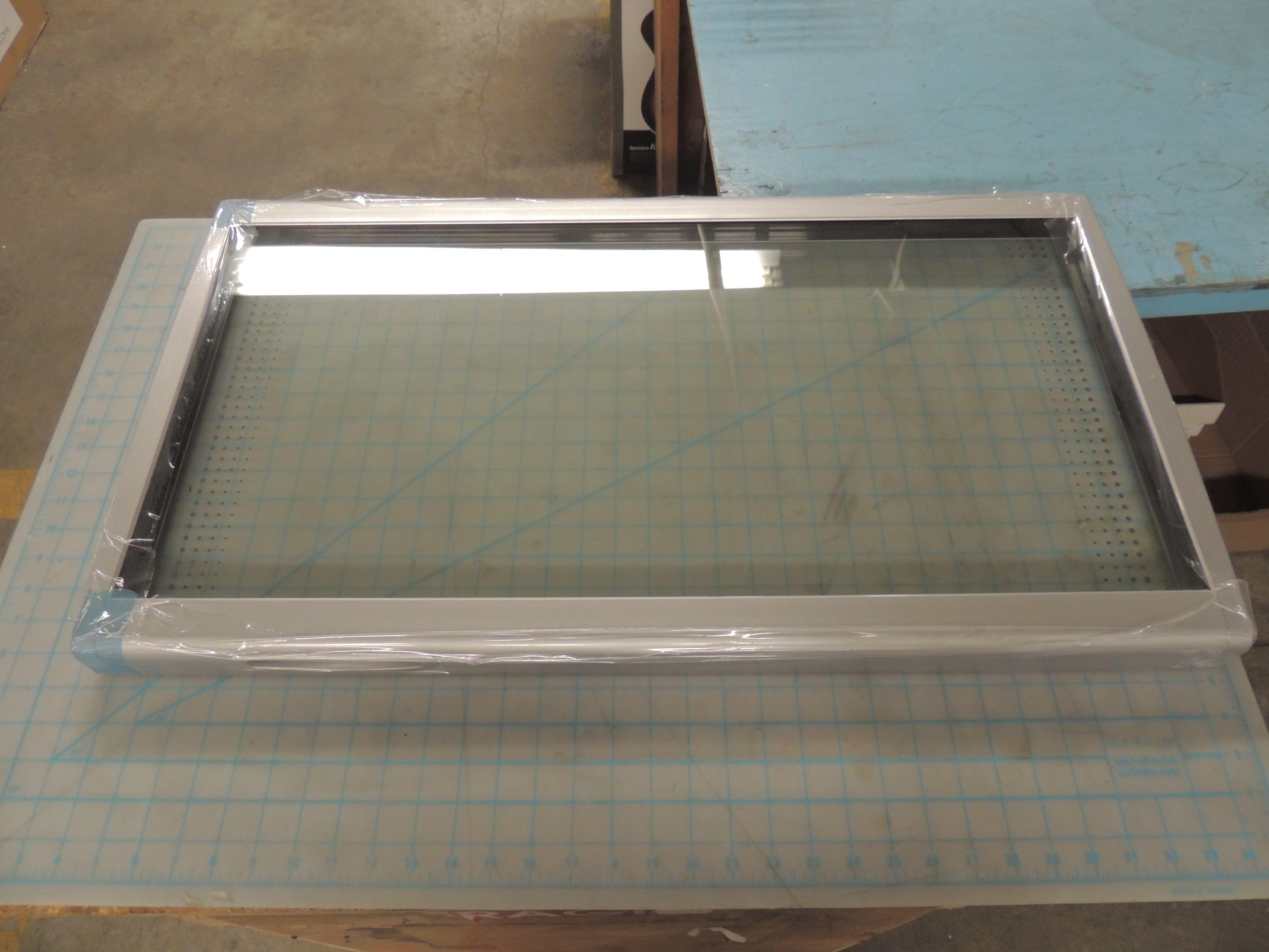 Glass Door Silver- frame