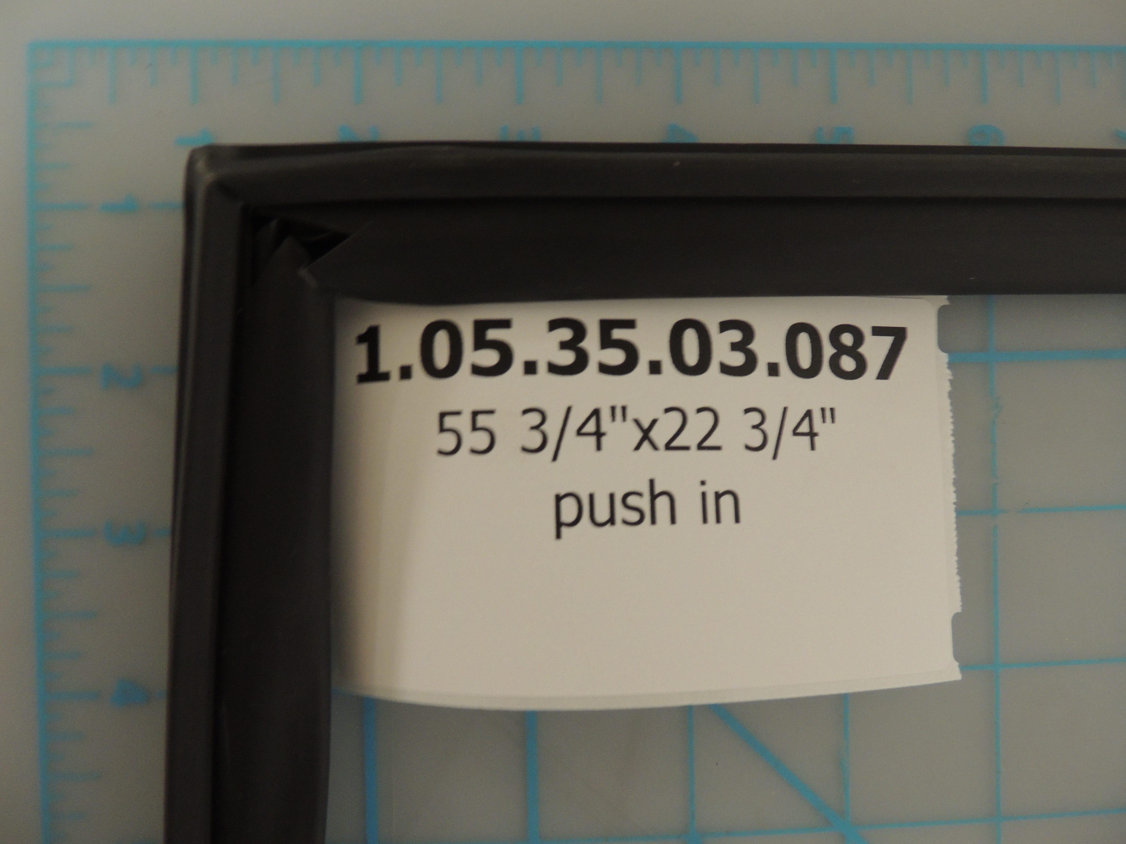 DWC610 DOOR GASKET