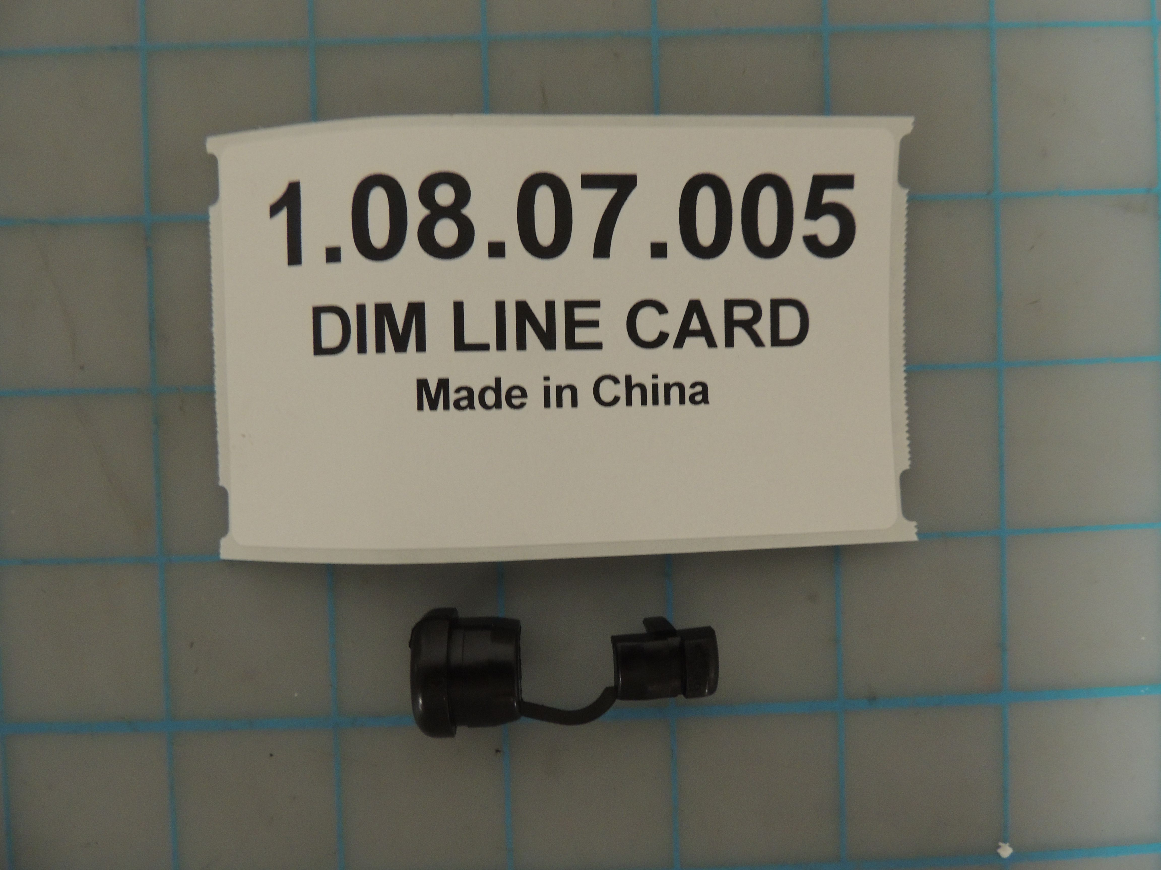DIM LINE CARD