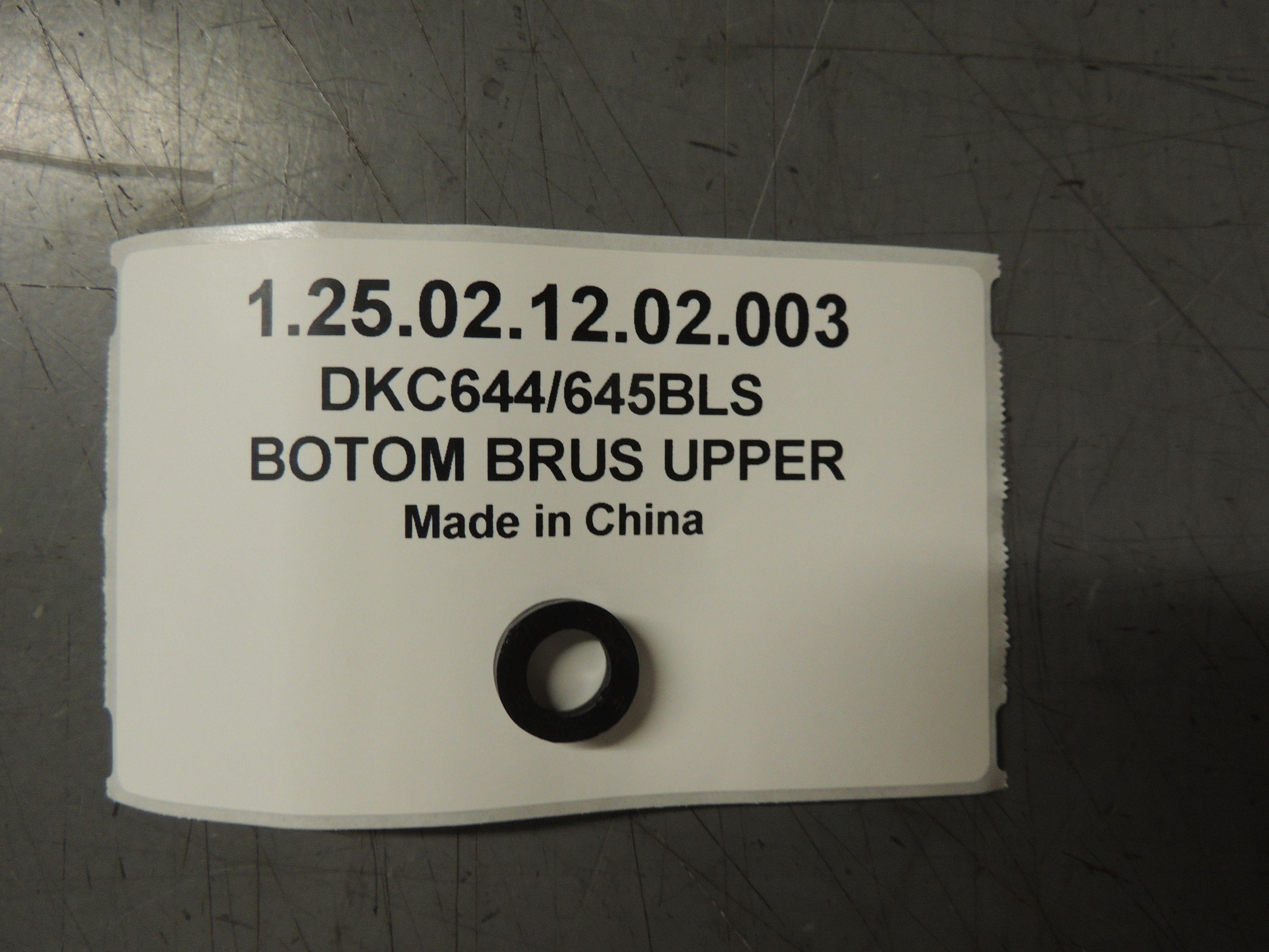 DKC644/645BLS BOTOM washer BL