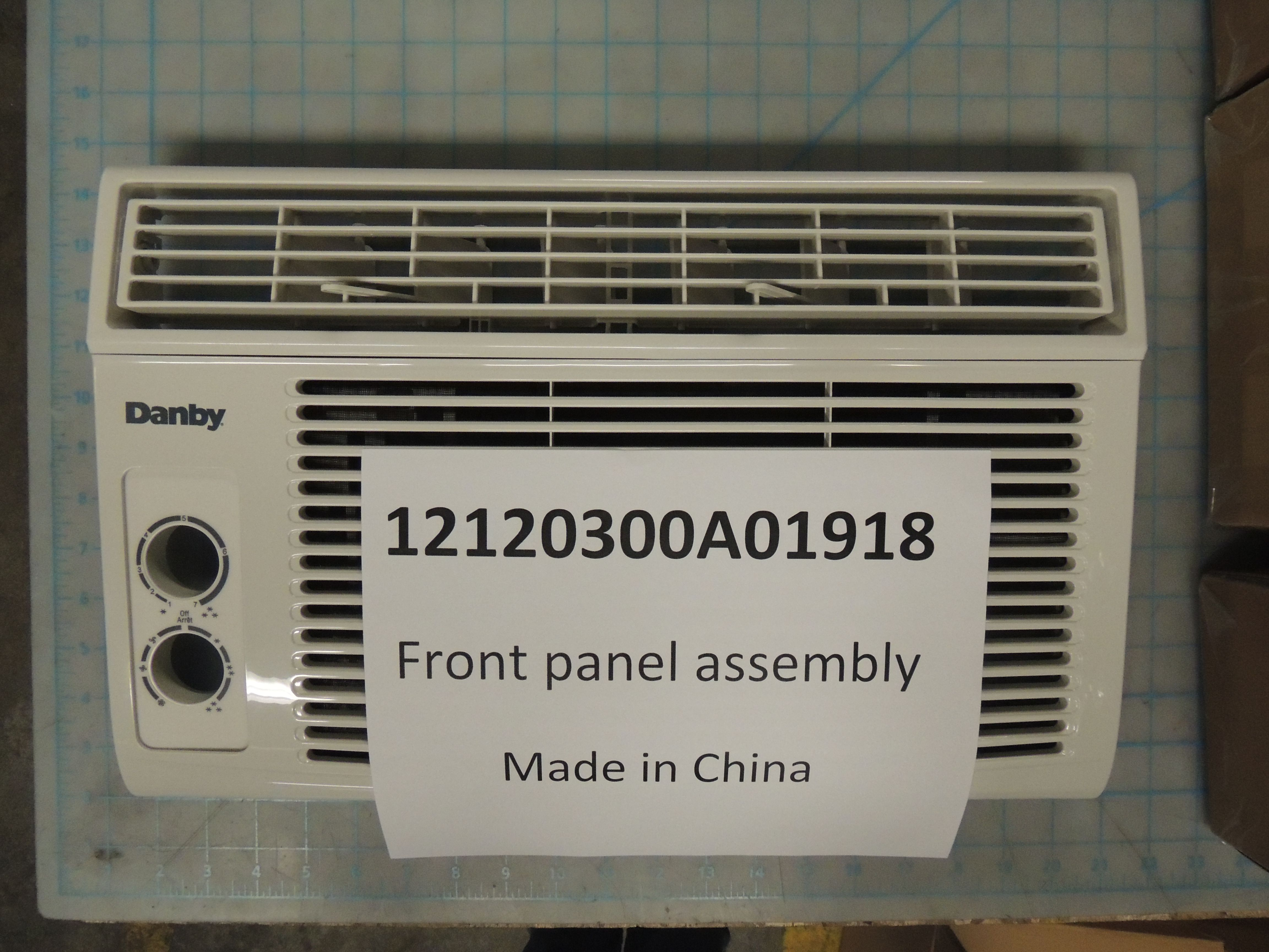 Front panel assembly