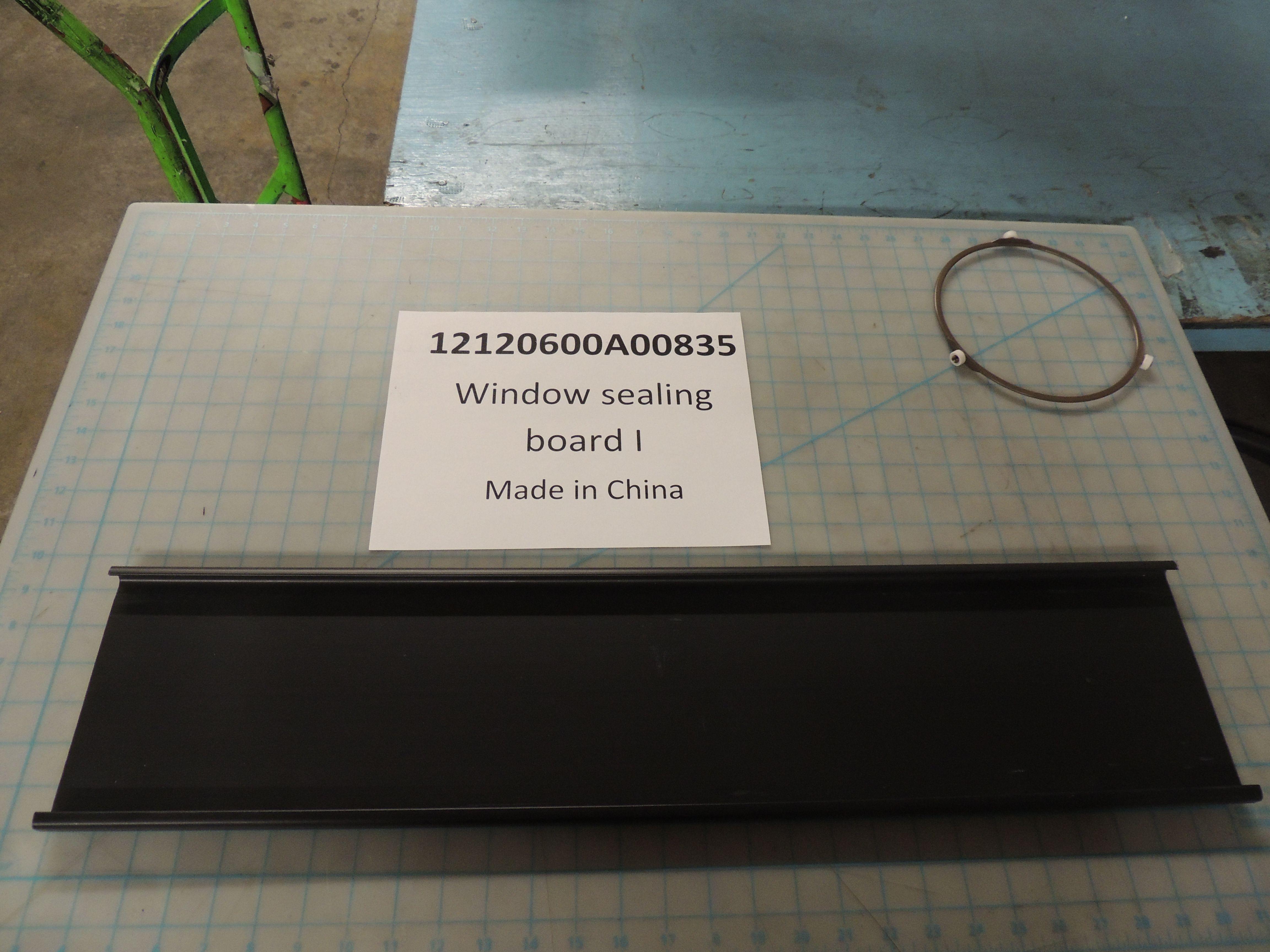 Window sealing board I