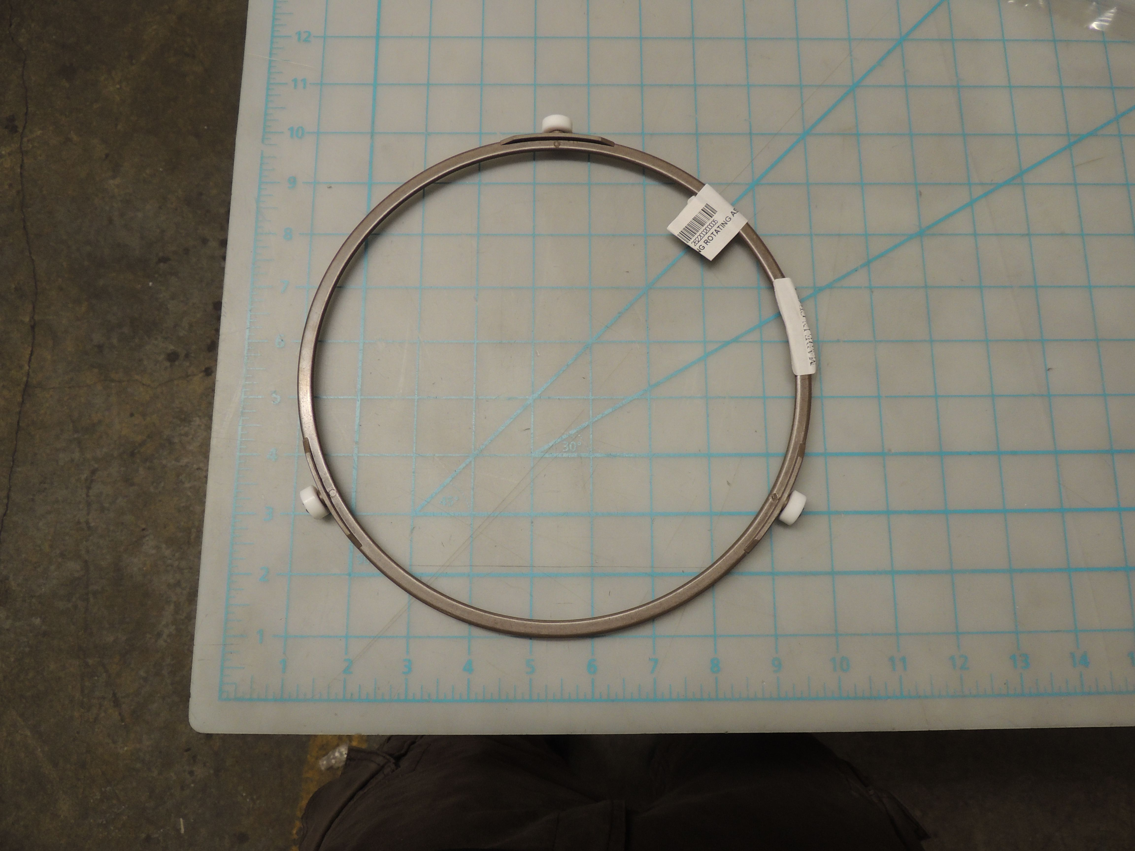 ASS'Y RING ROTATING