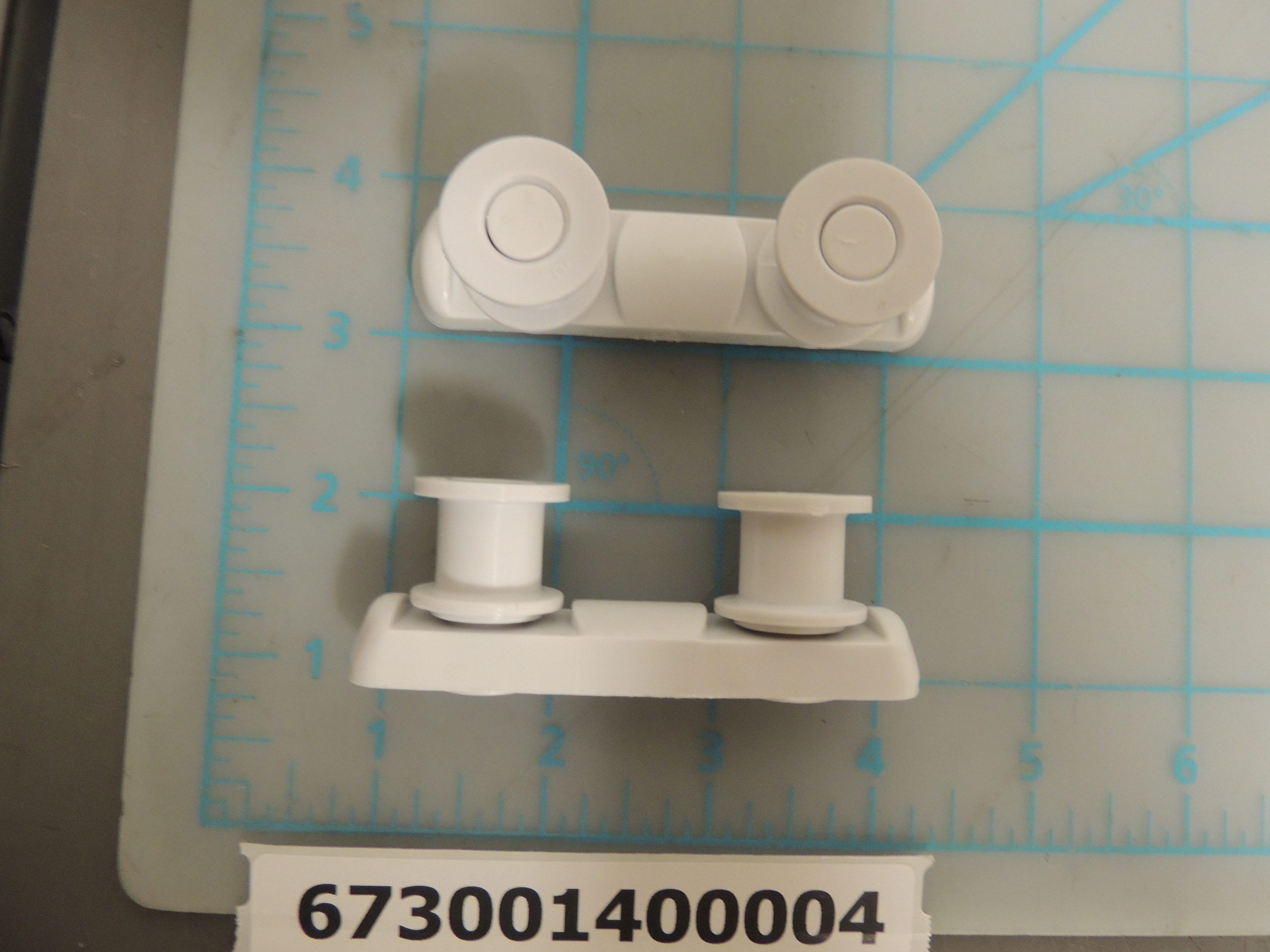 DDW1802 GUIDE RAIL BRKT ASSY