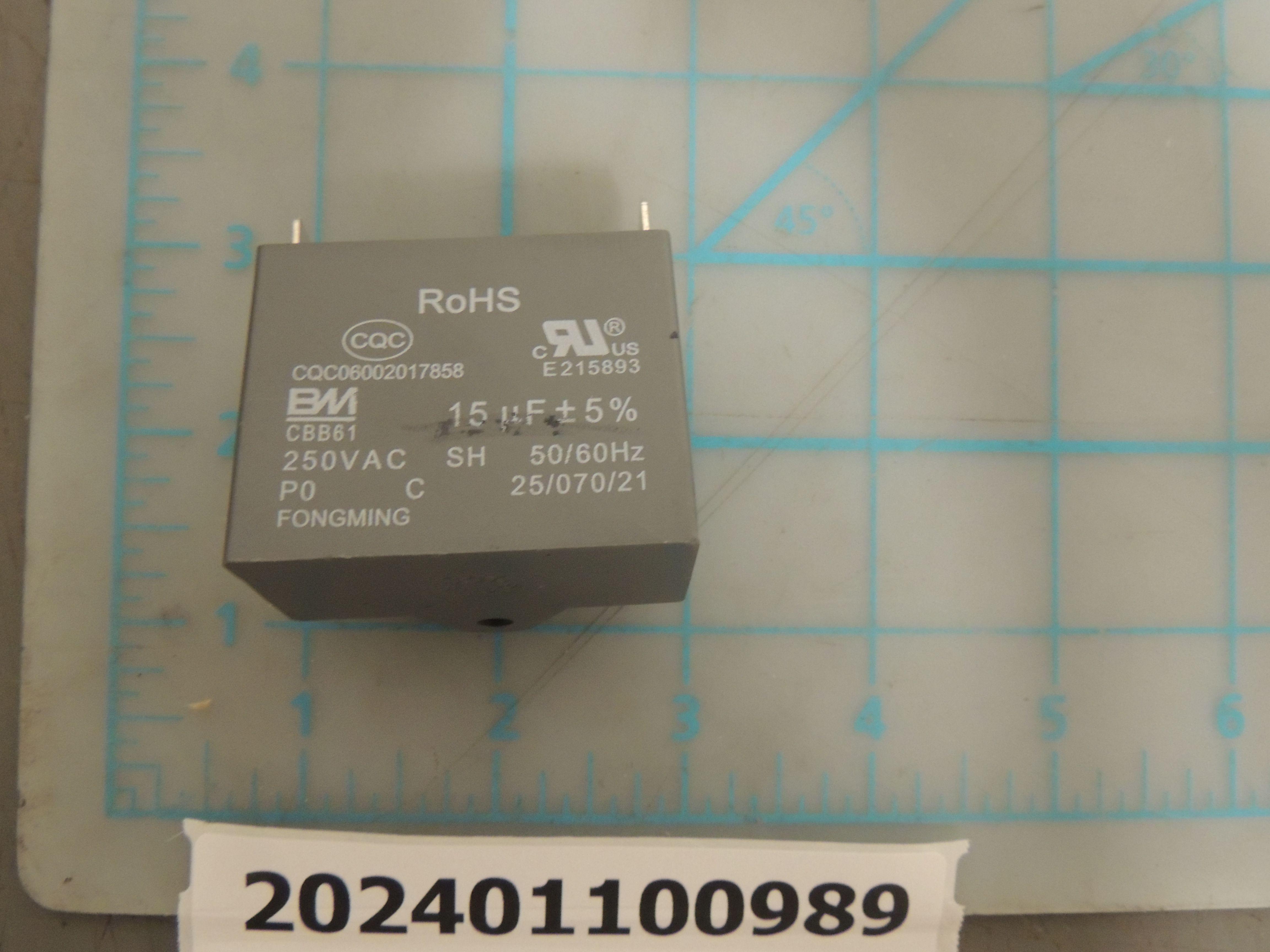 Capacitor of fan motor