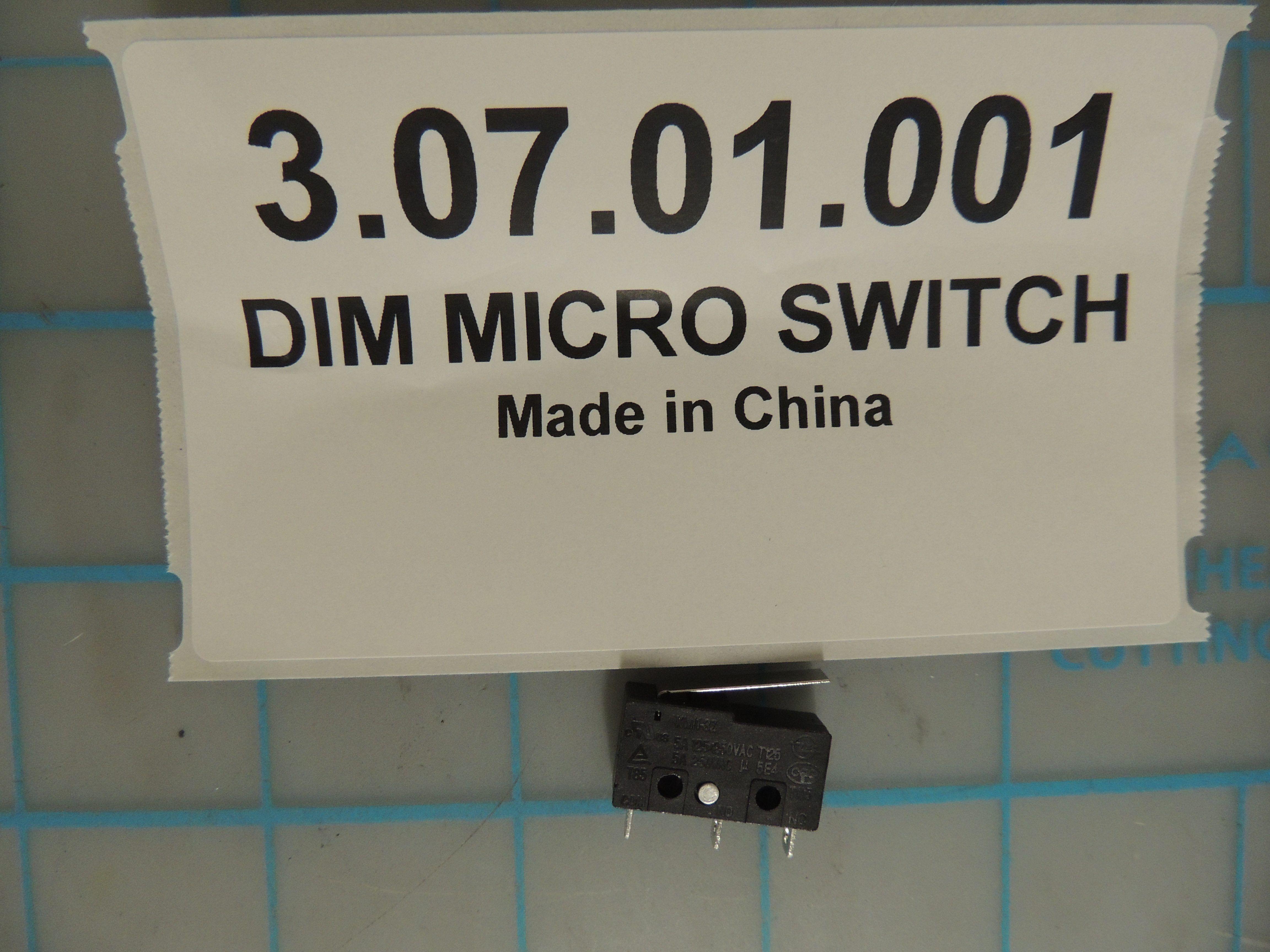 DIM MICRO SWITCH