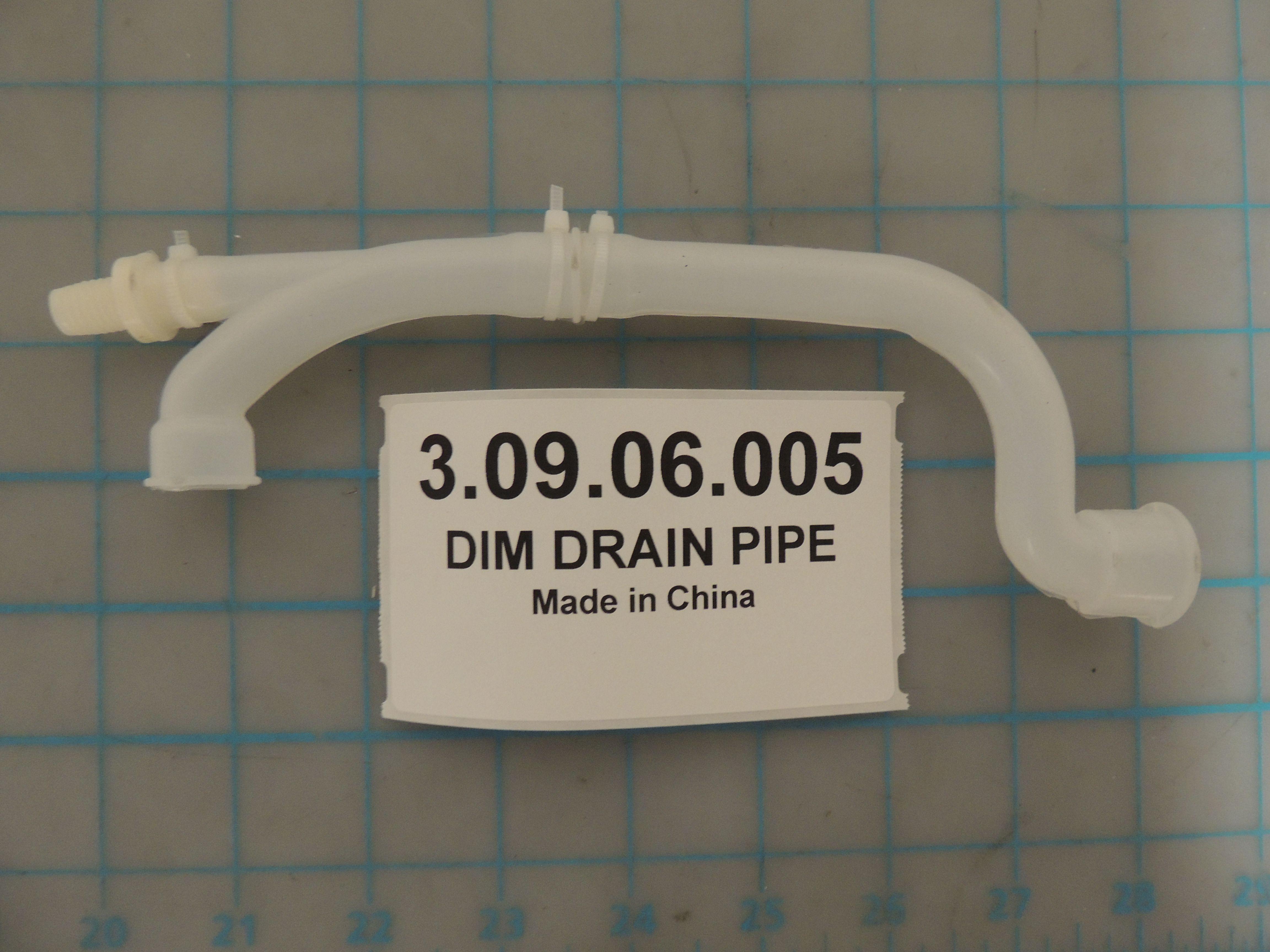 DIM DRAIN PIPE