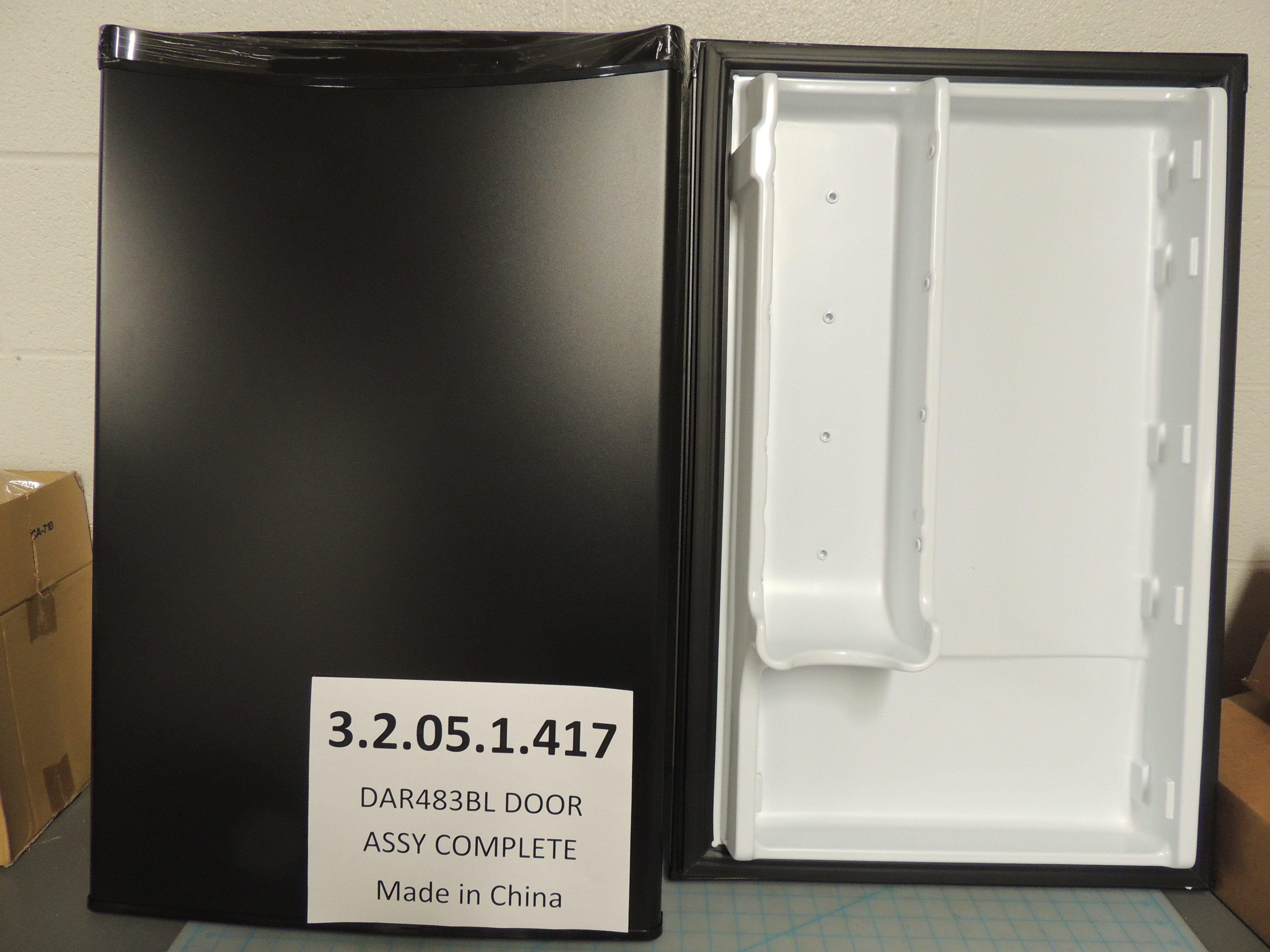 DAR483BL DOOR ASSY COMPLETE
