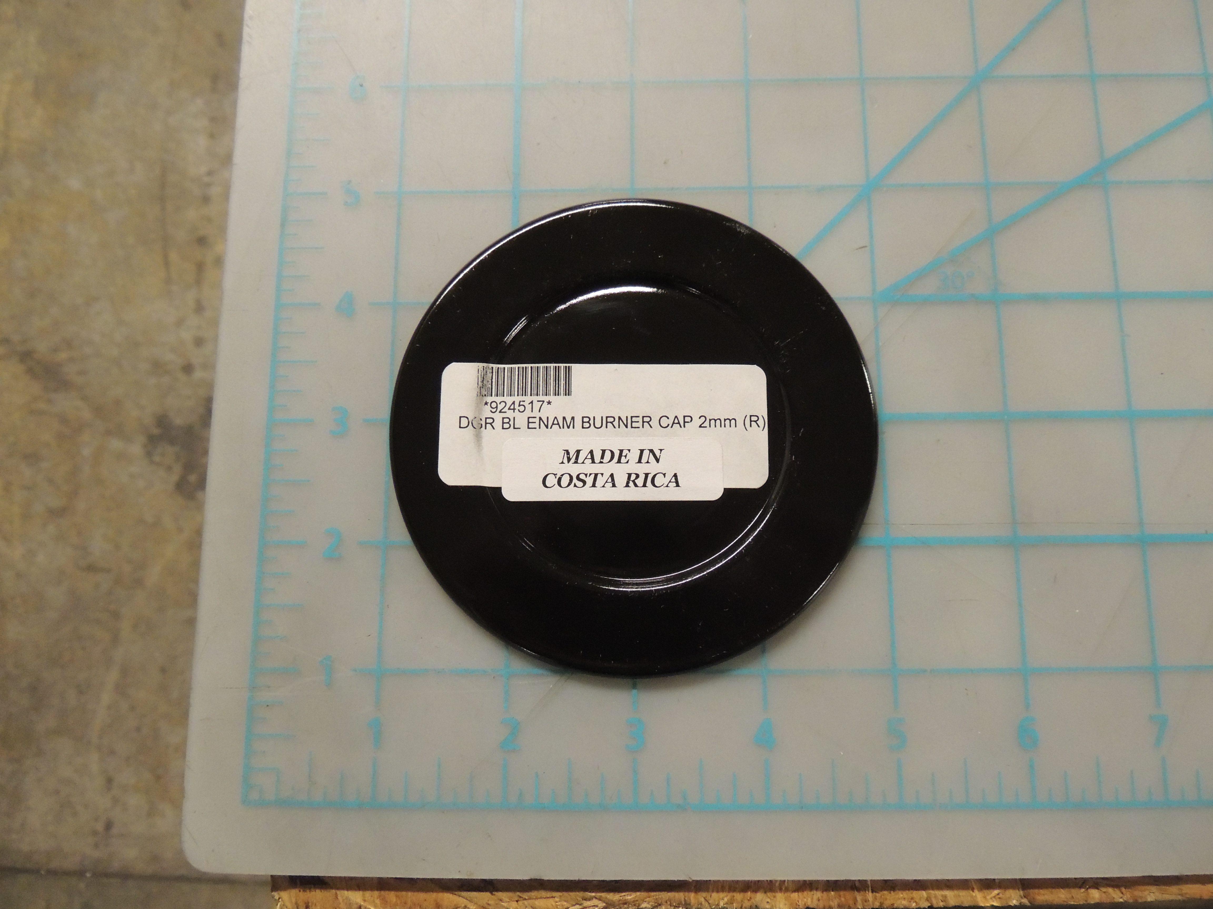 DGR BL ENAM BURNER CAP 2mm (R)