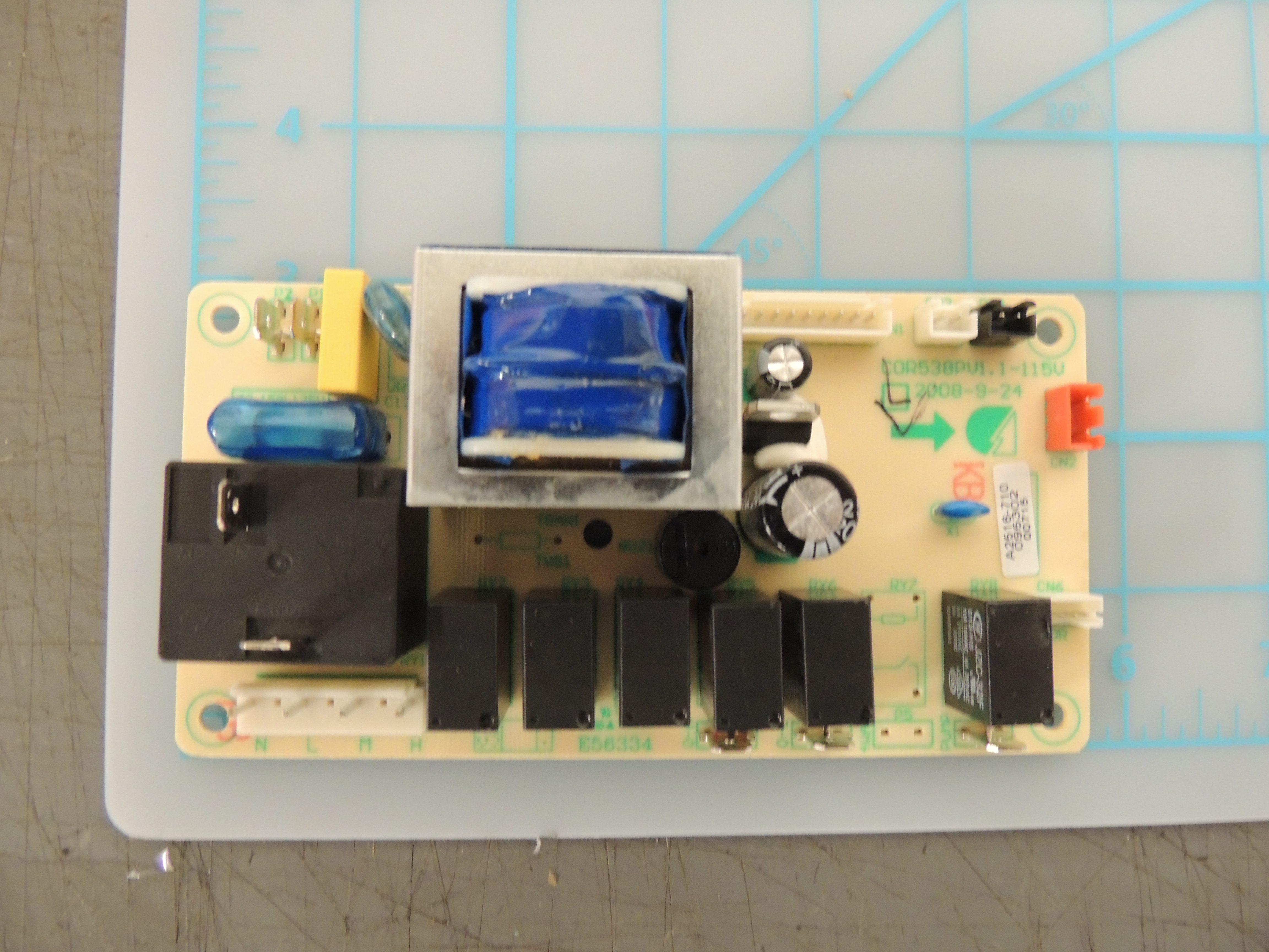 DPAC9009 CONTROL BOARD