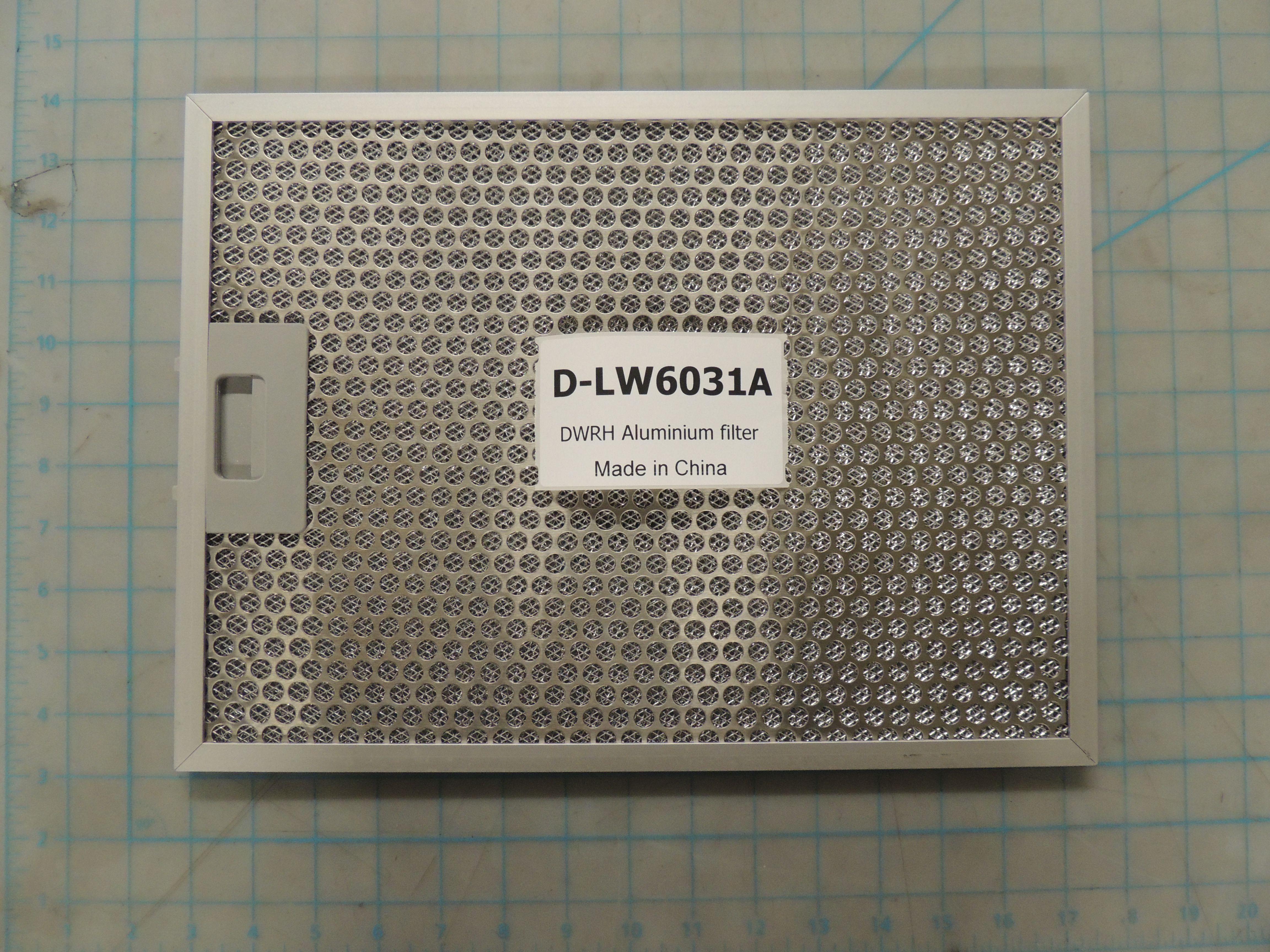 DWRH Aluminium filter