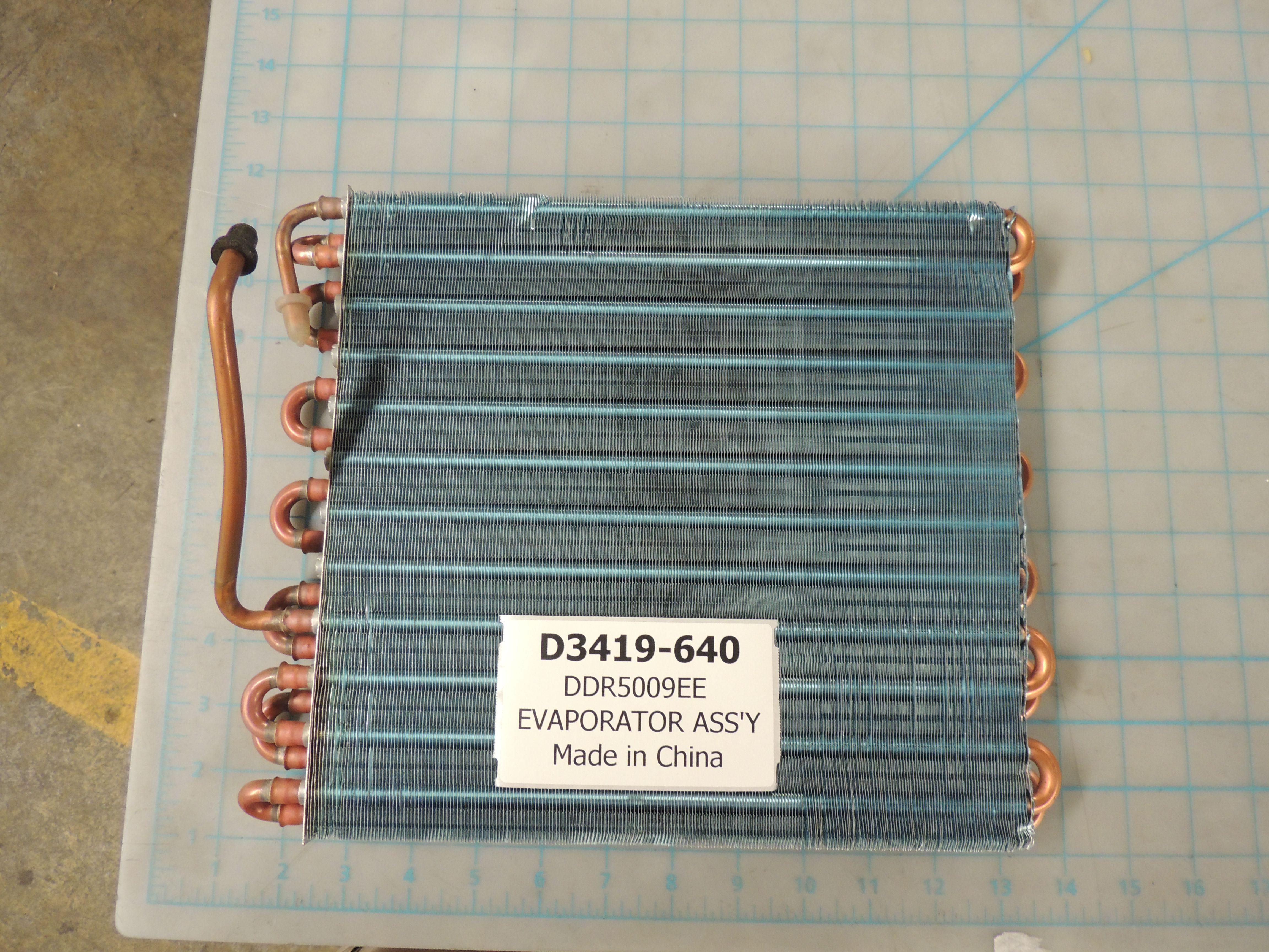 DDR5009EE EVAPORATOR ASS'Y