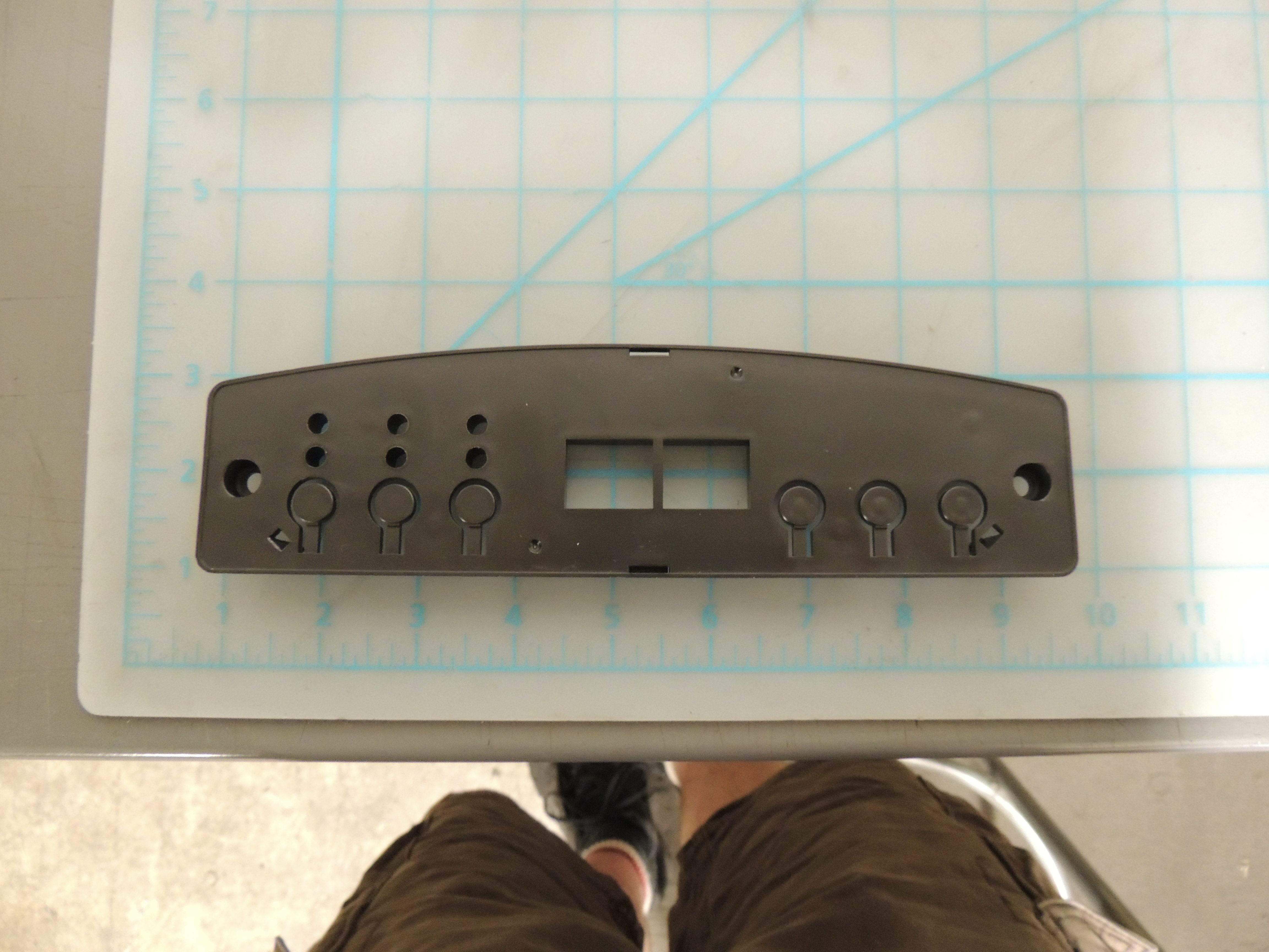 DDR6011R CONTROL PLATE