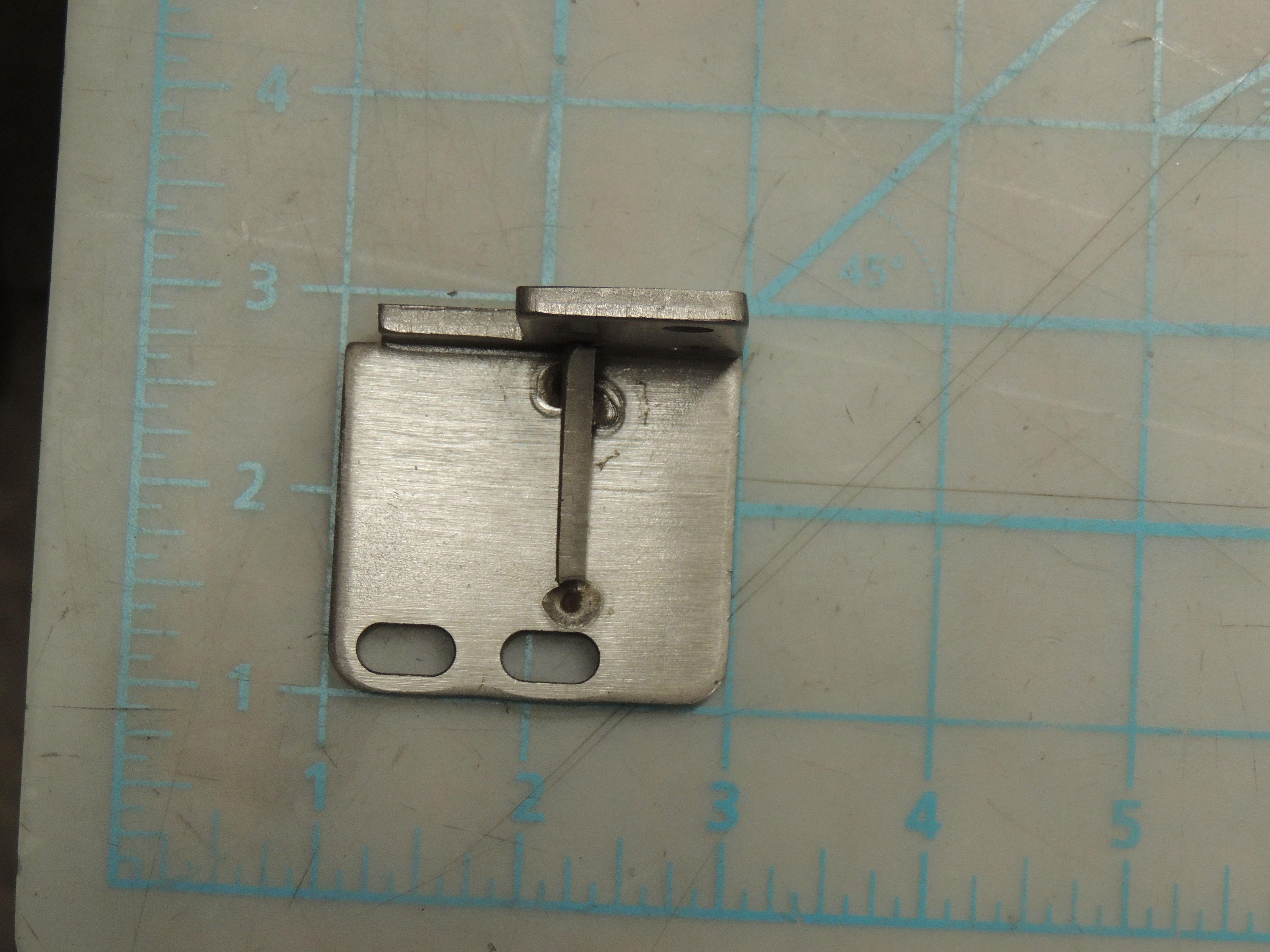 Lower hinge module, Left