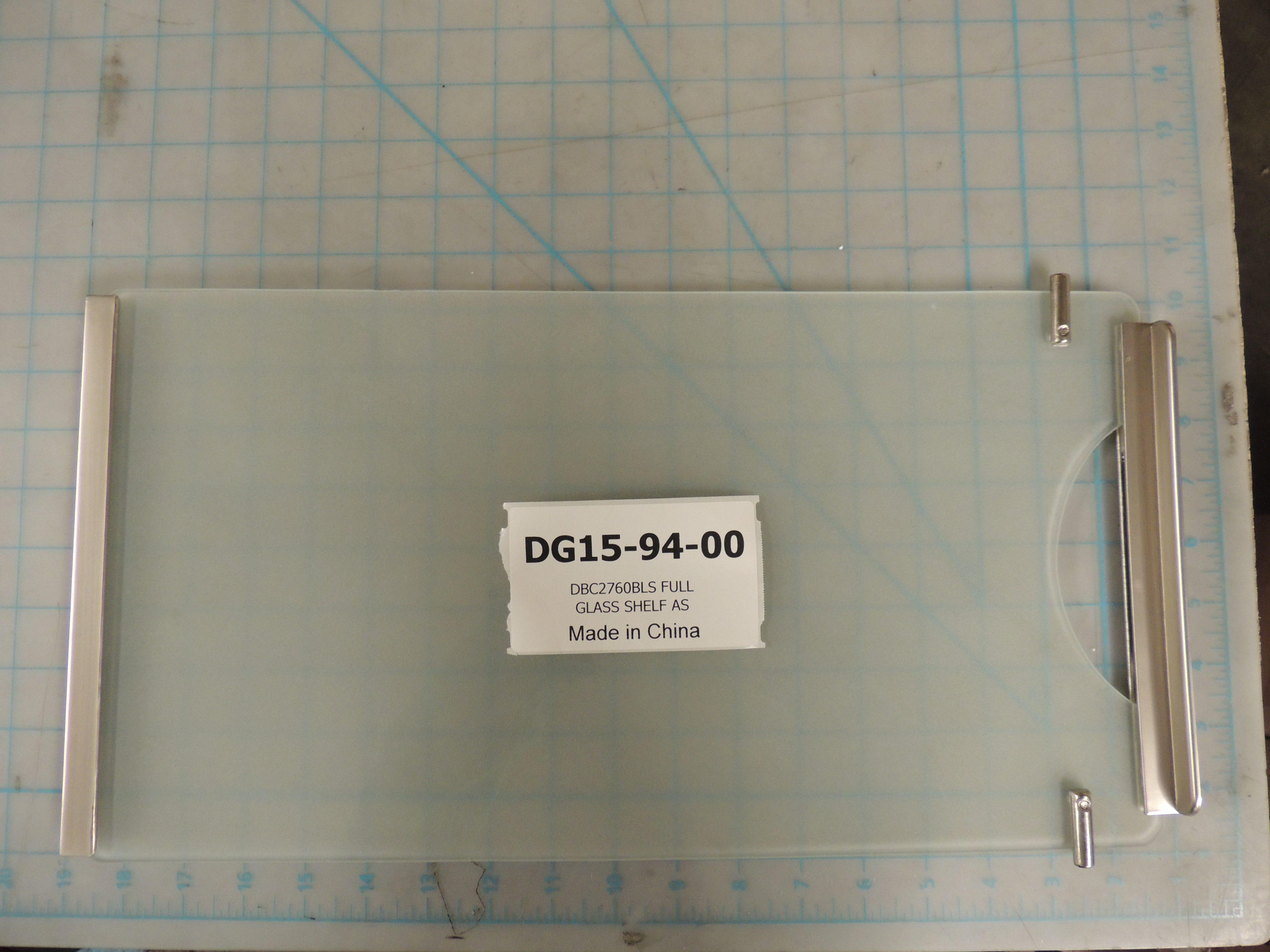 DBC2760 FULL GLASS SHELF KIT