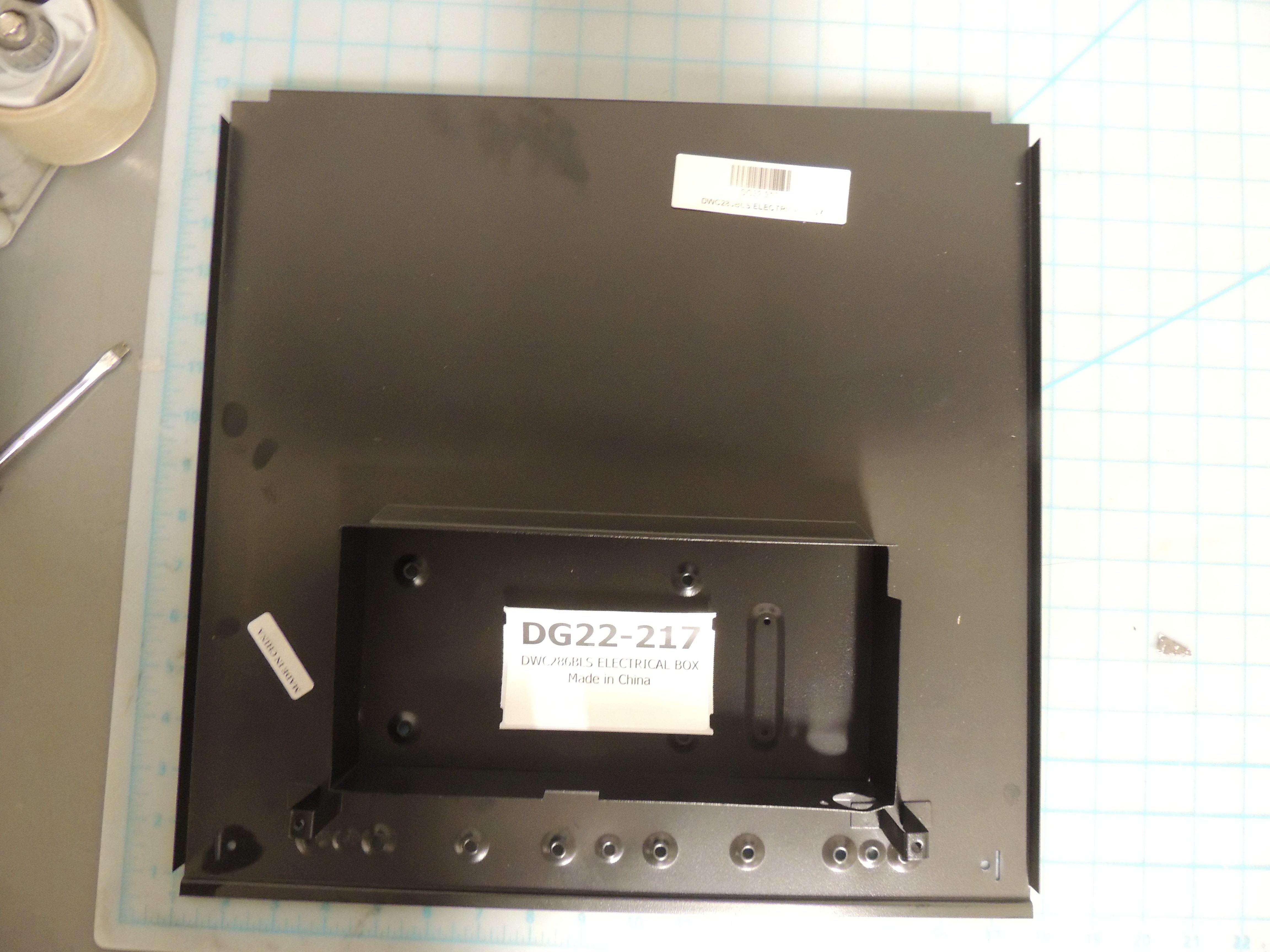 DWC286BLS ELECTRICAL BOX
