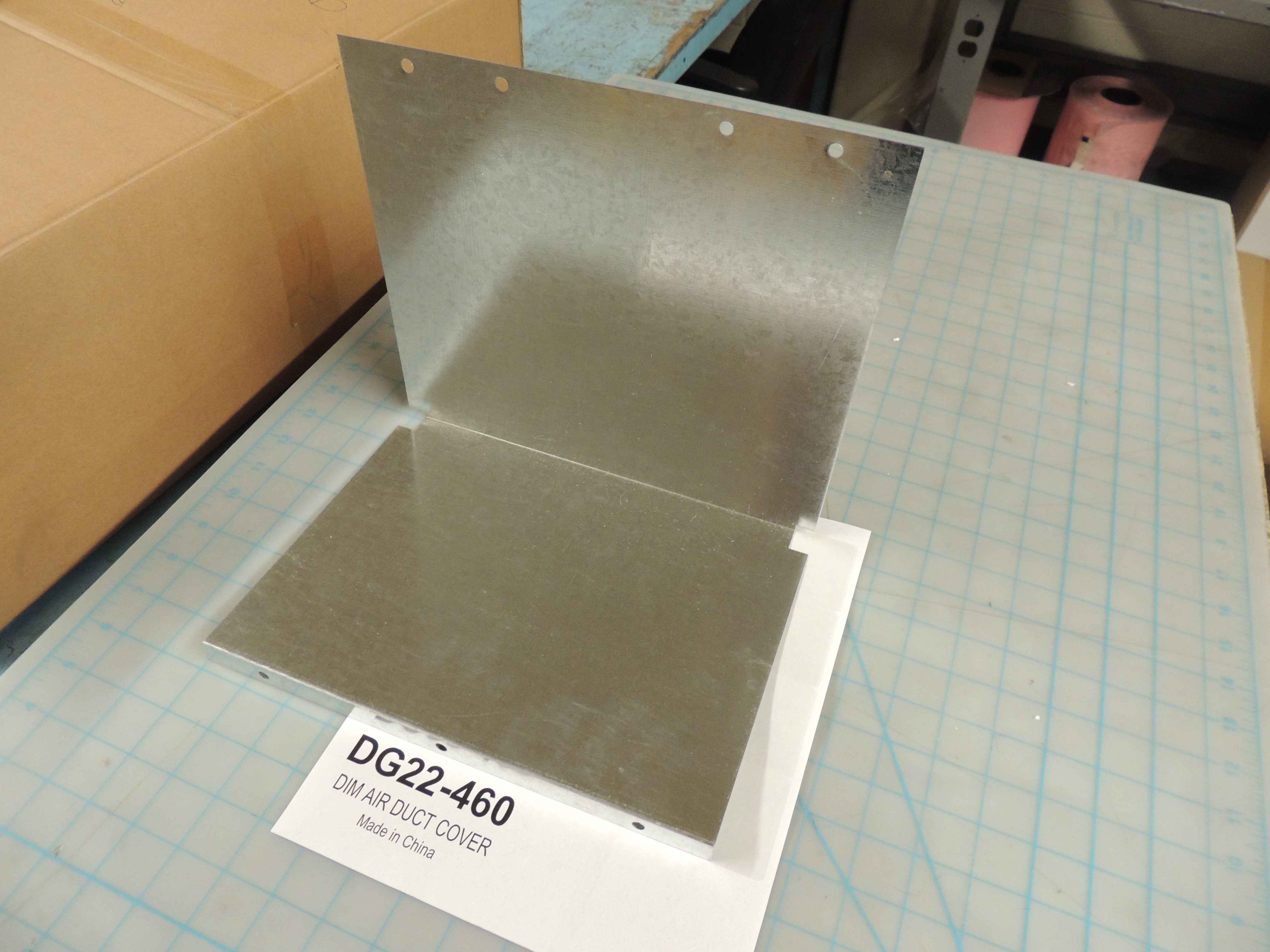 DIM AIR DUCT COVER
