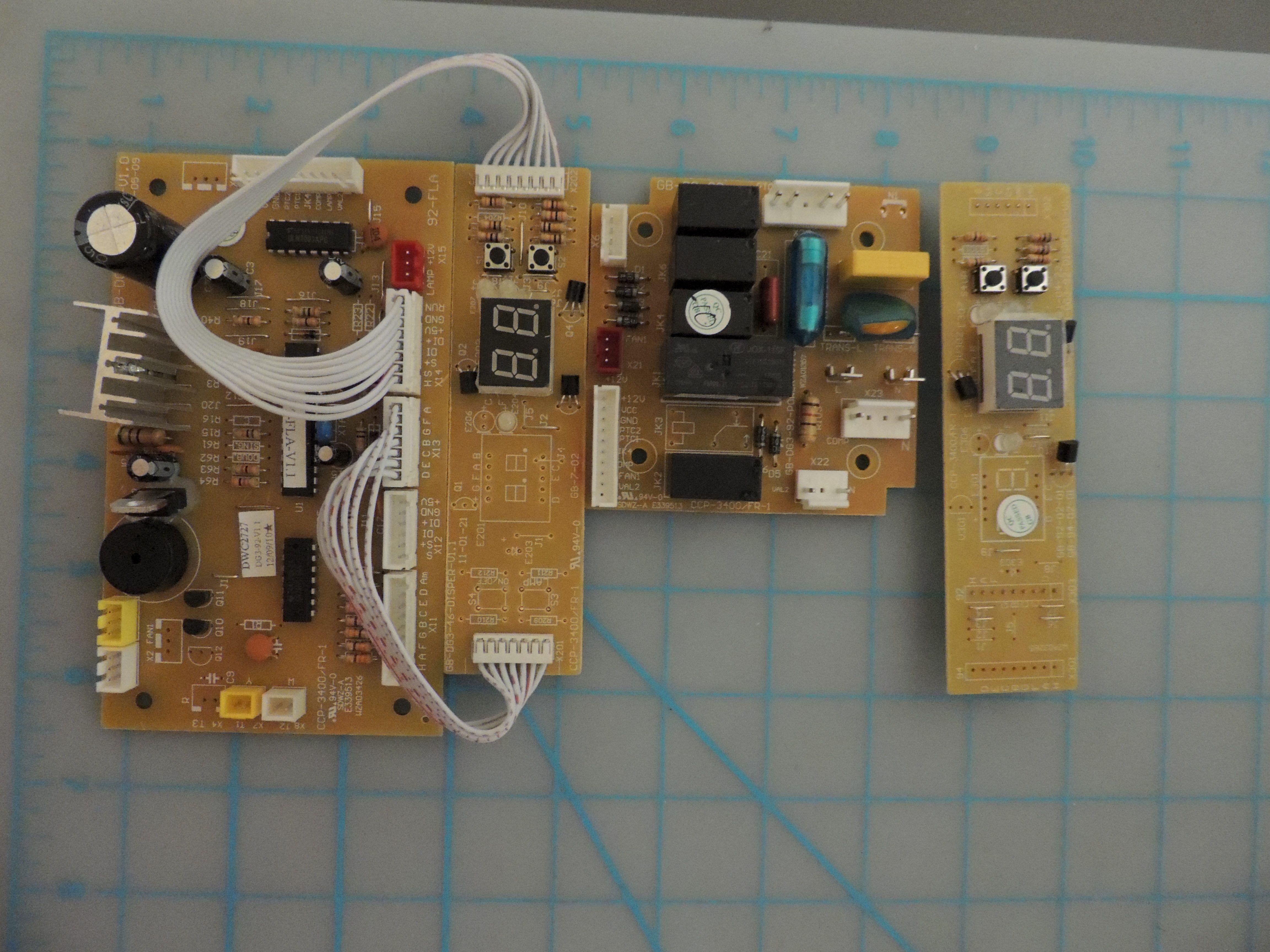 DWC2727 PCB BOARD