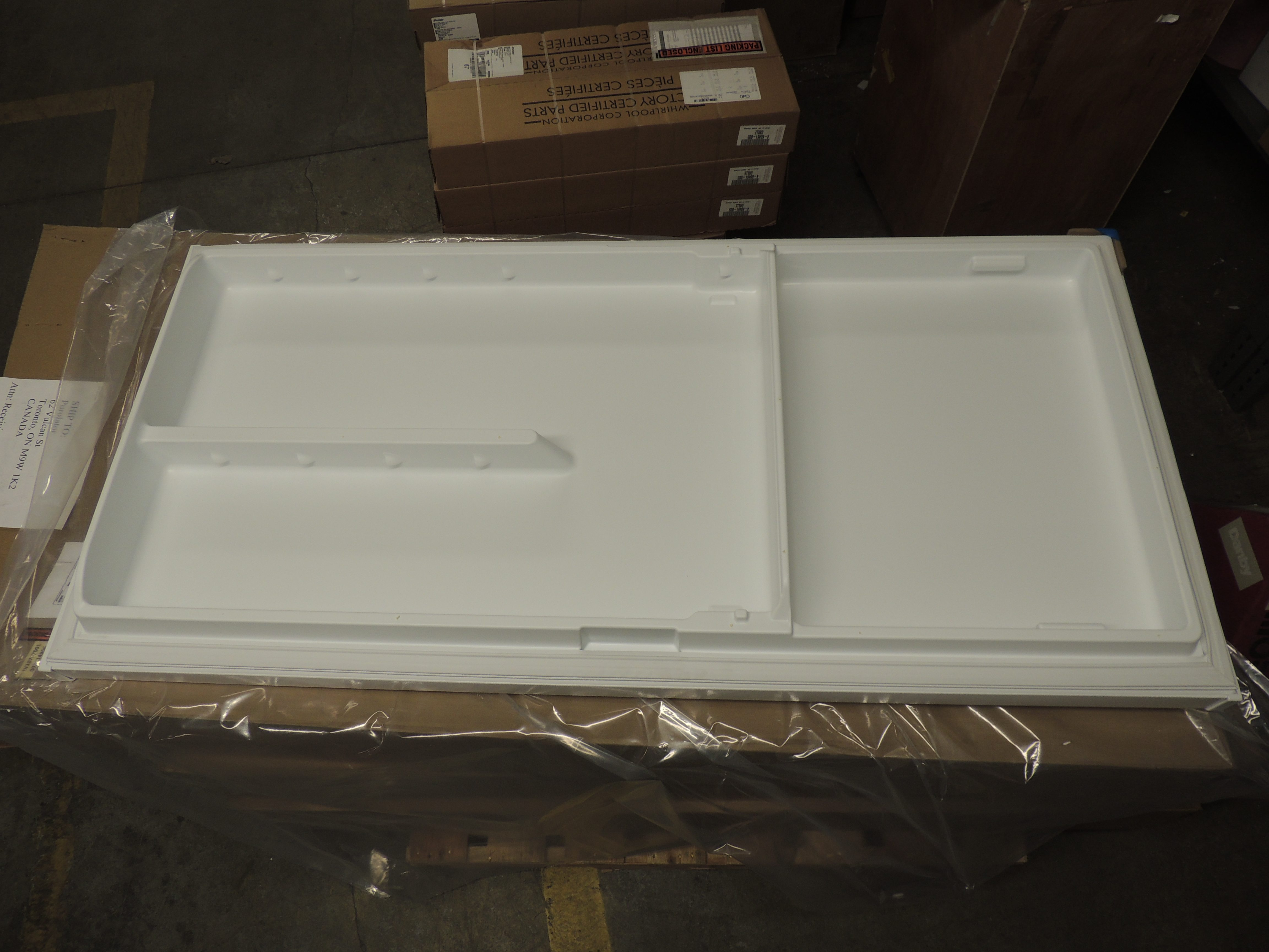 White Door Assembly