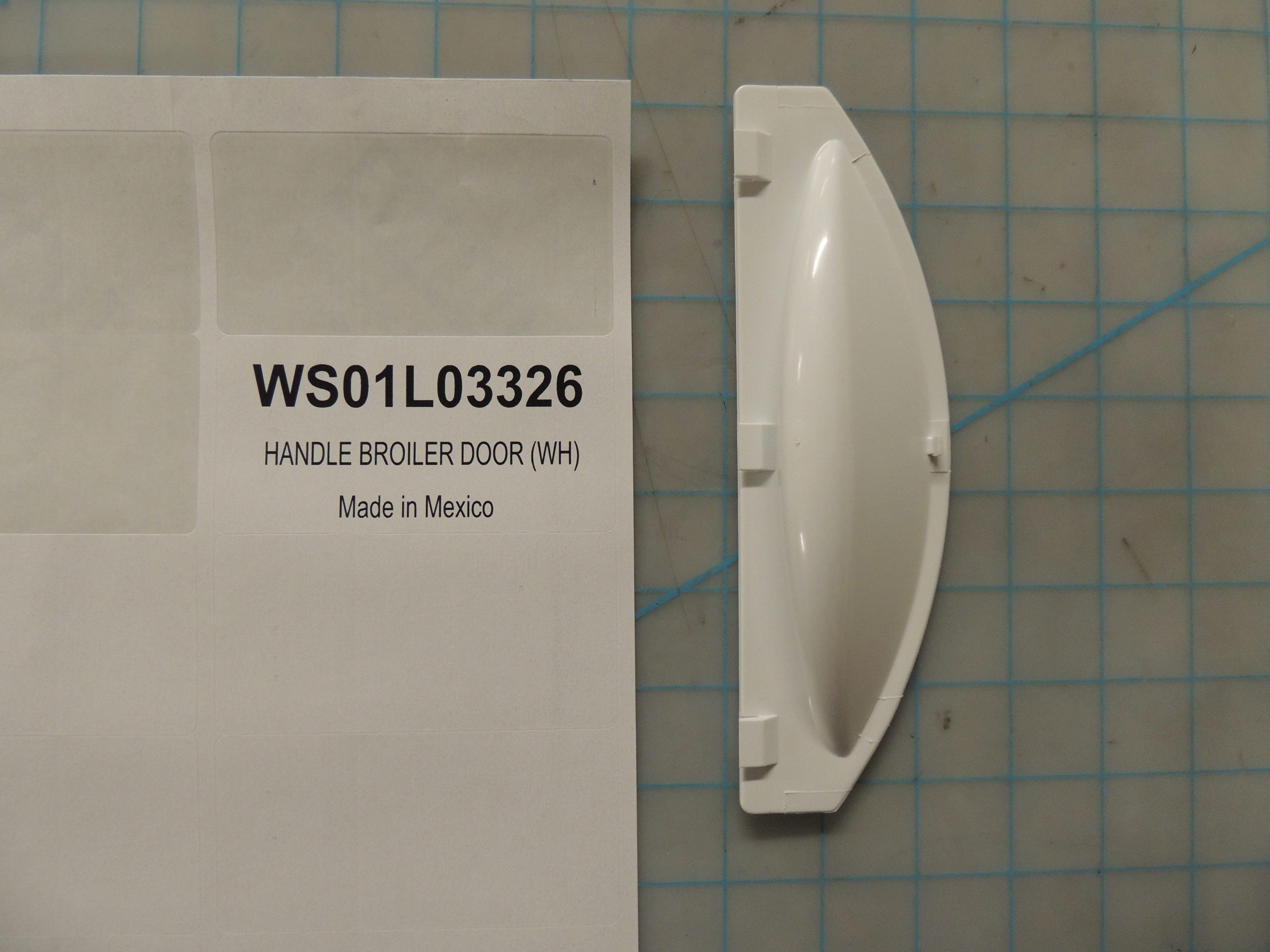 HANDLE BROILER DOOR (WH)
