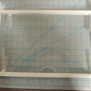DAR482BLS GLASS SHELF