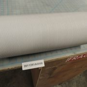 Flexible air exhaust hose