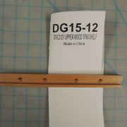 DWC2121 UPPER WOOD TRIM SHELF