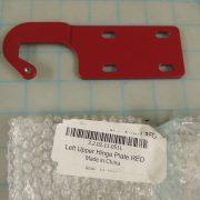 Left Upper Hinge Plate RED