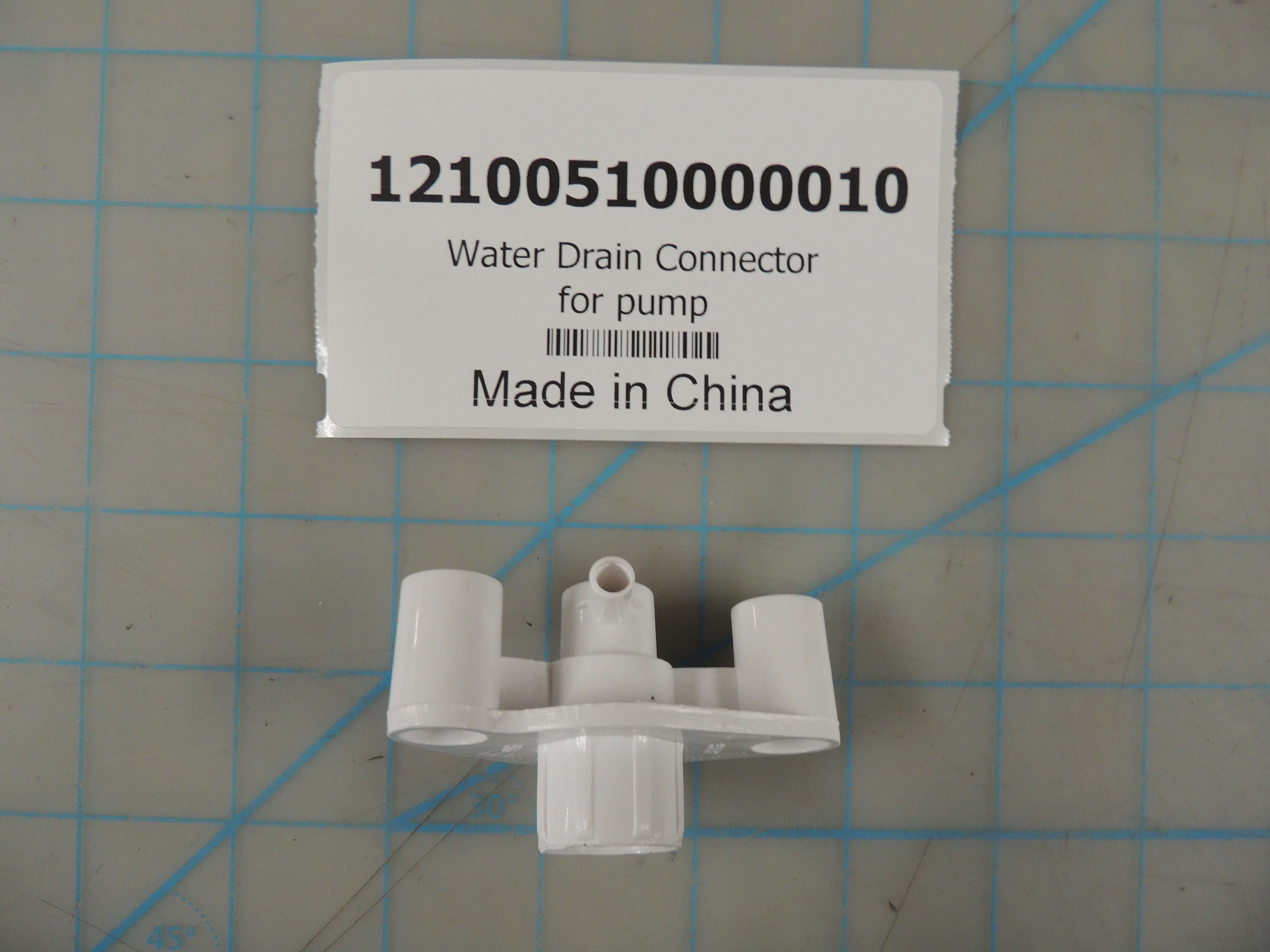 Water Drain Connector for pump