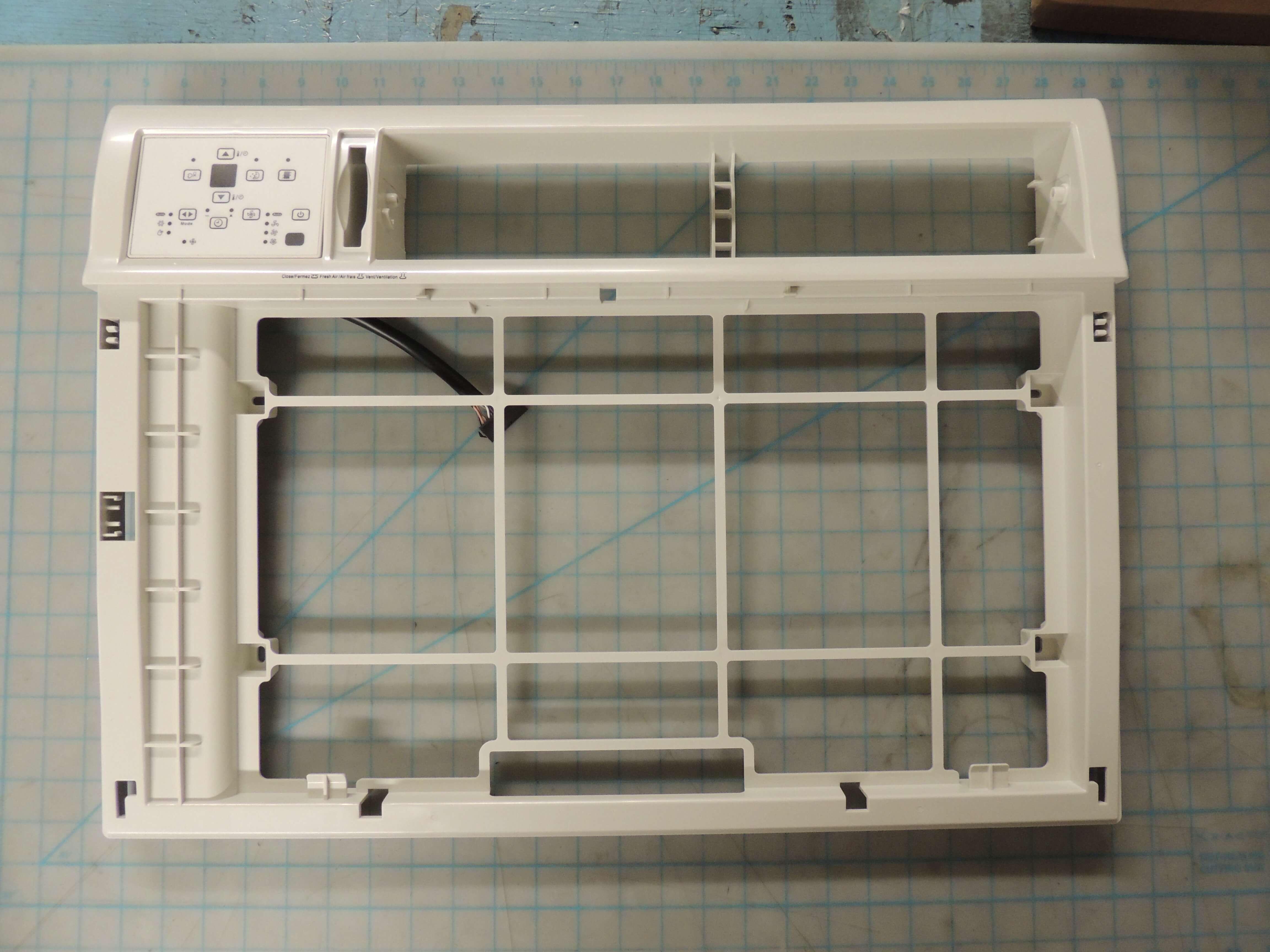 Panel frame assembly