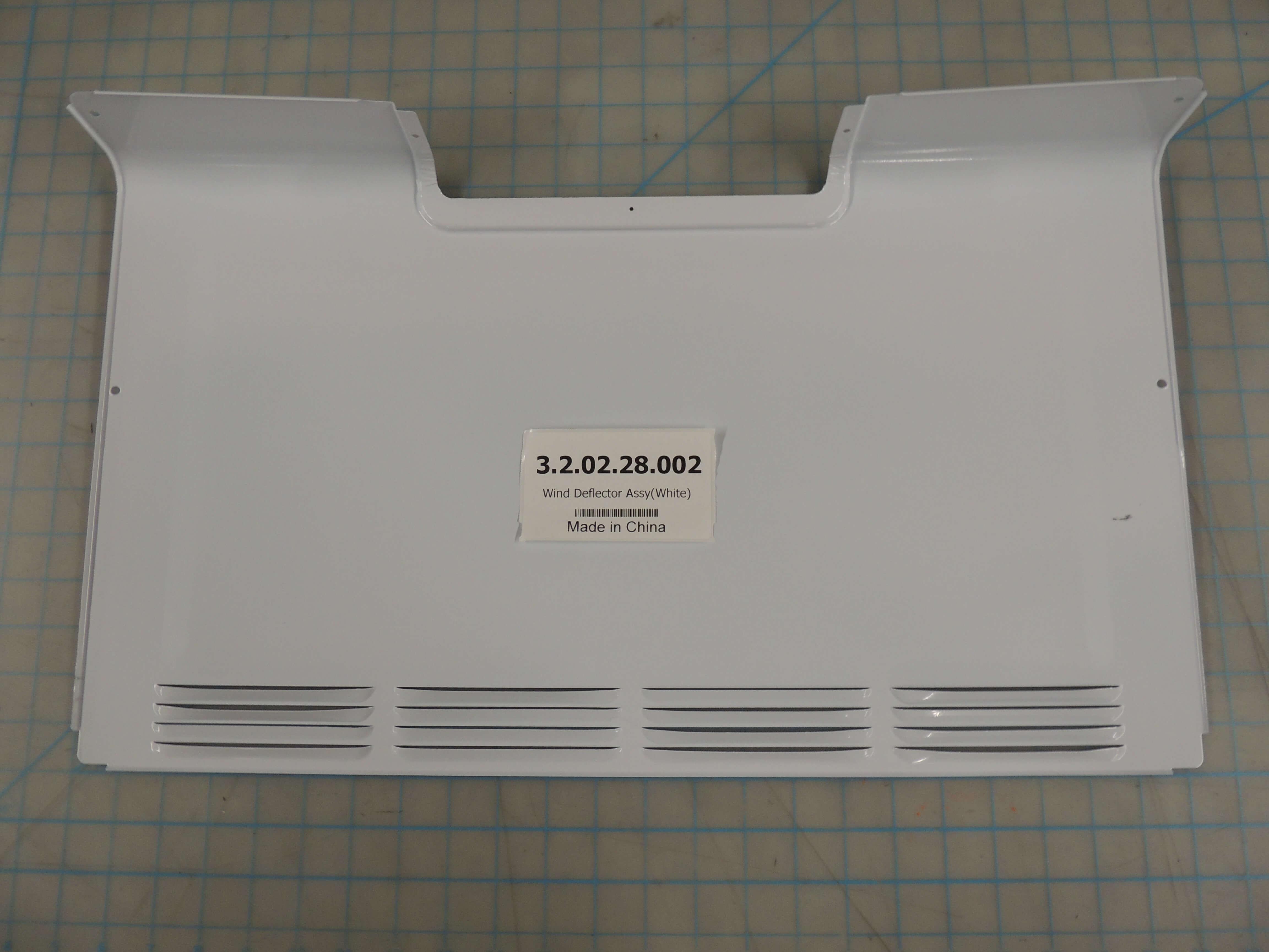 Wind Deflector Assy(White)