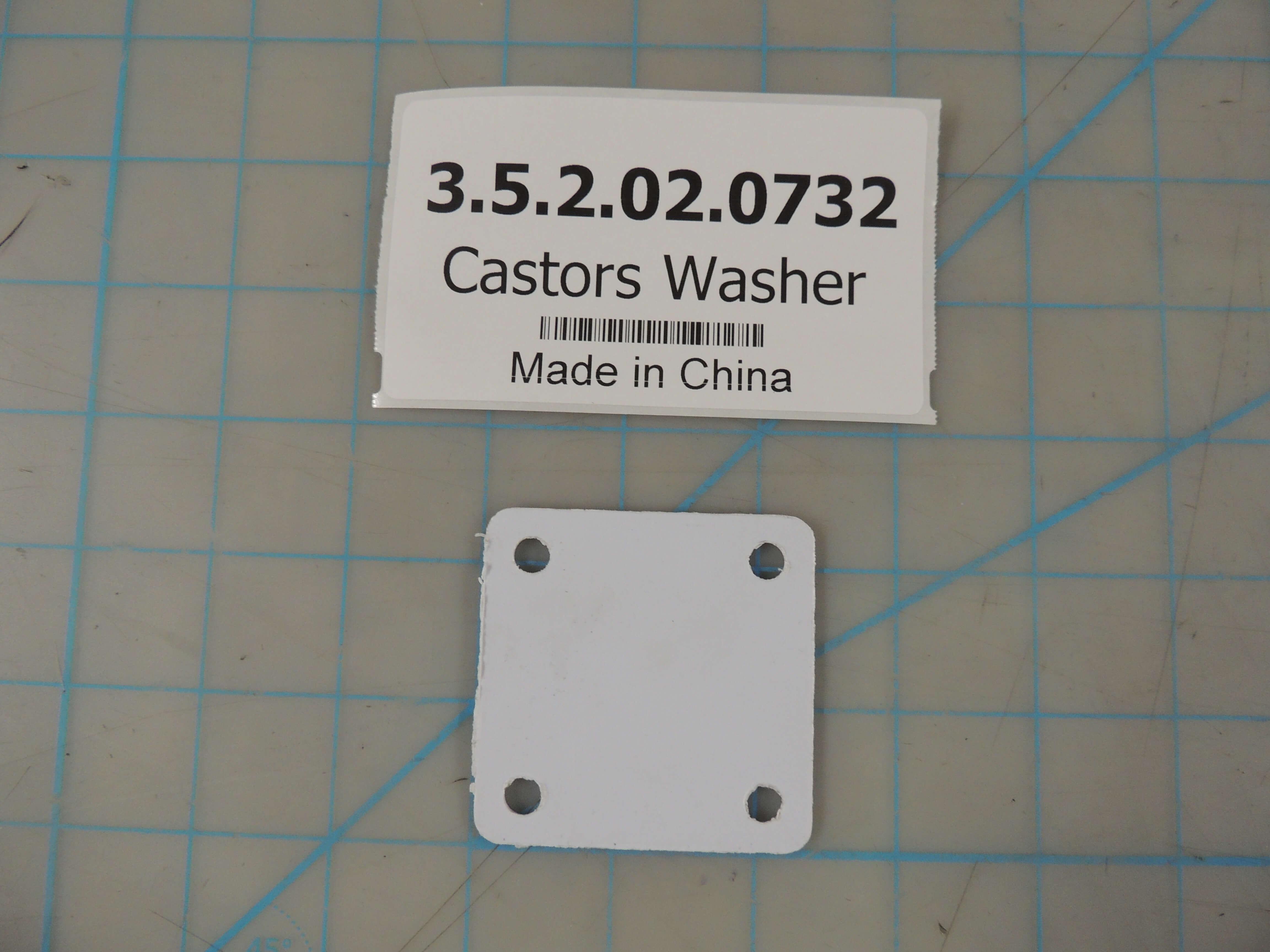 Castors Washer