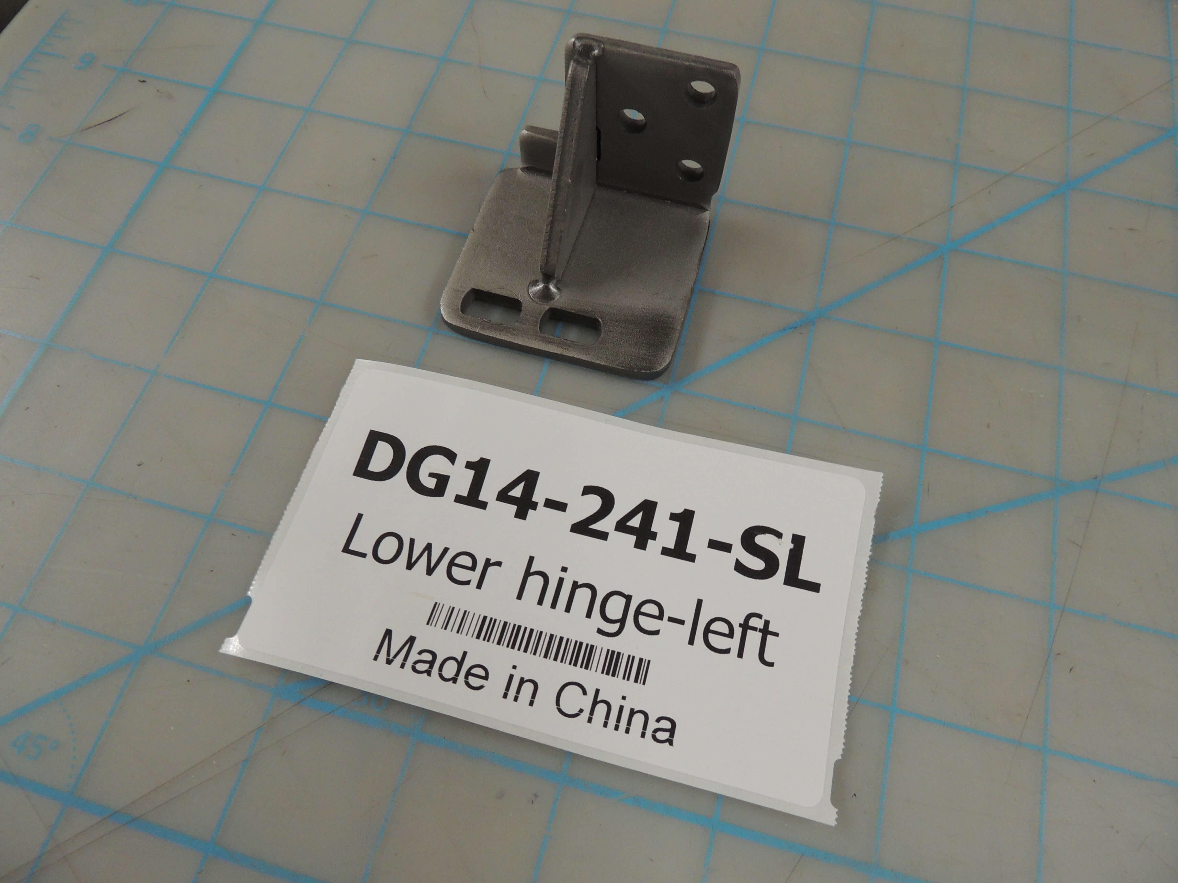 Lower hinge-left