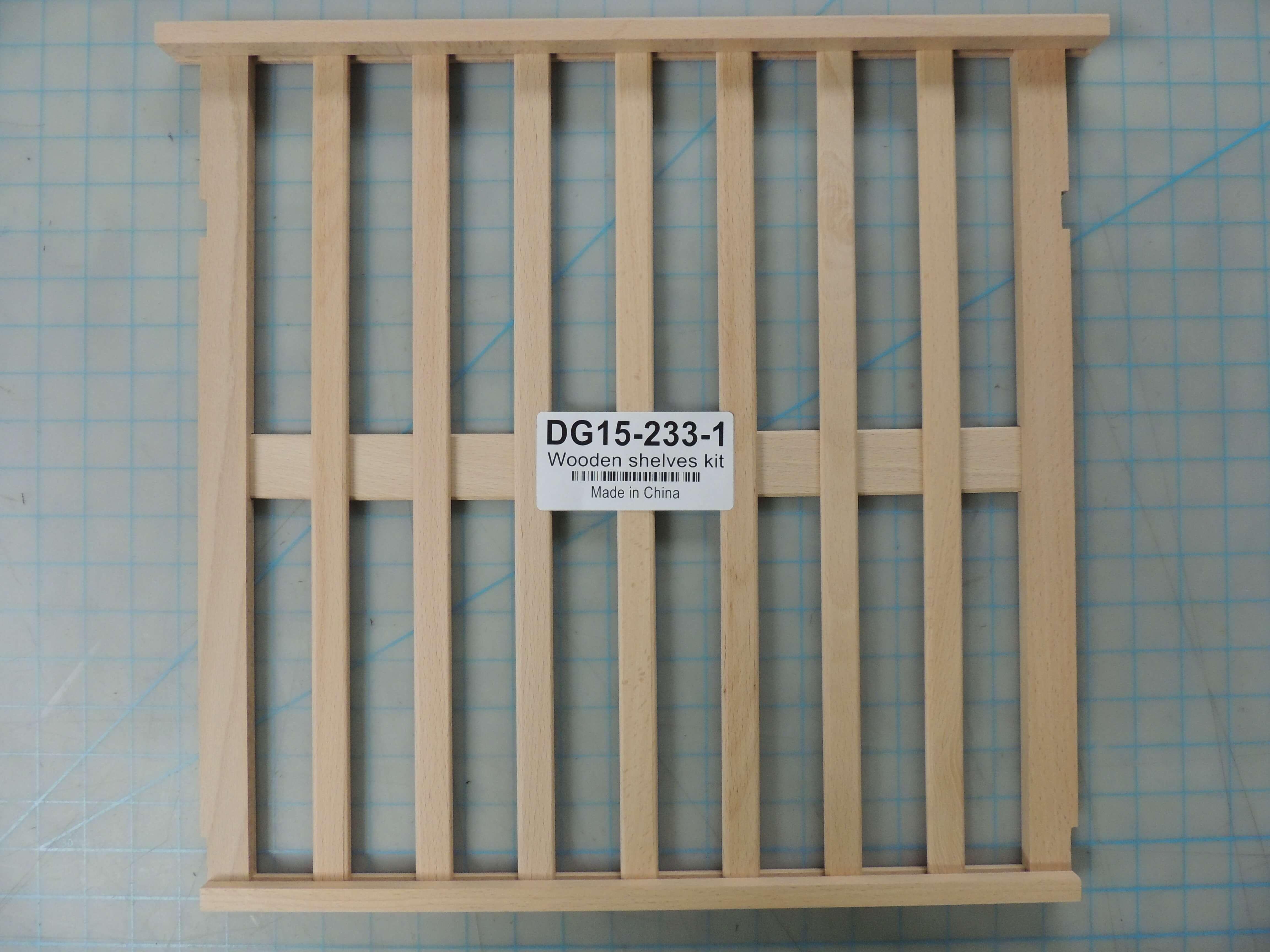 Wooden shelves kit